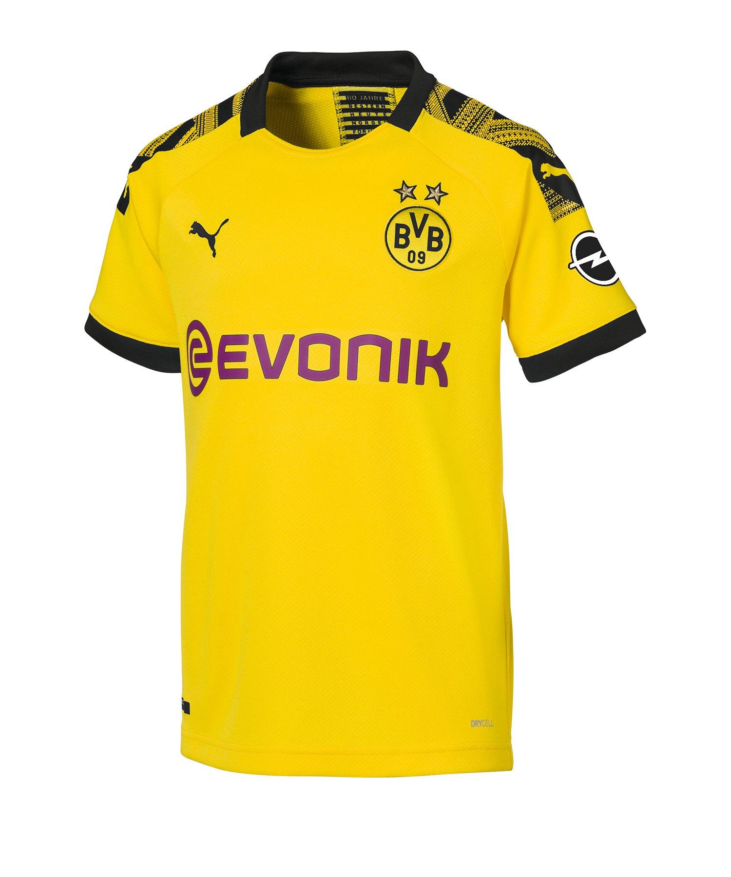 PUMA BVB Dortmund Trikot Home 2019/2020 Kids F01 - Gelb