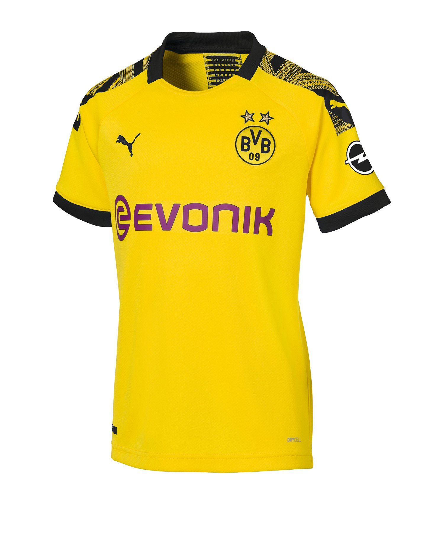 PUMA BVB Dortmund Trikot Home 2019/2020 Damen F01 - Gelb