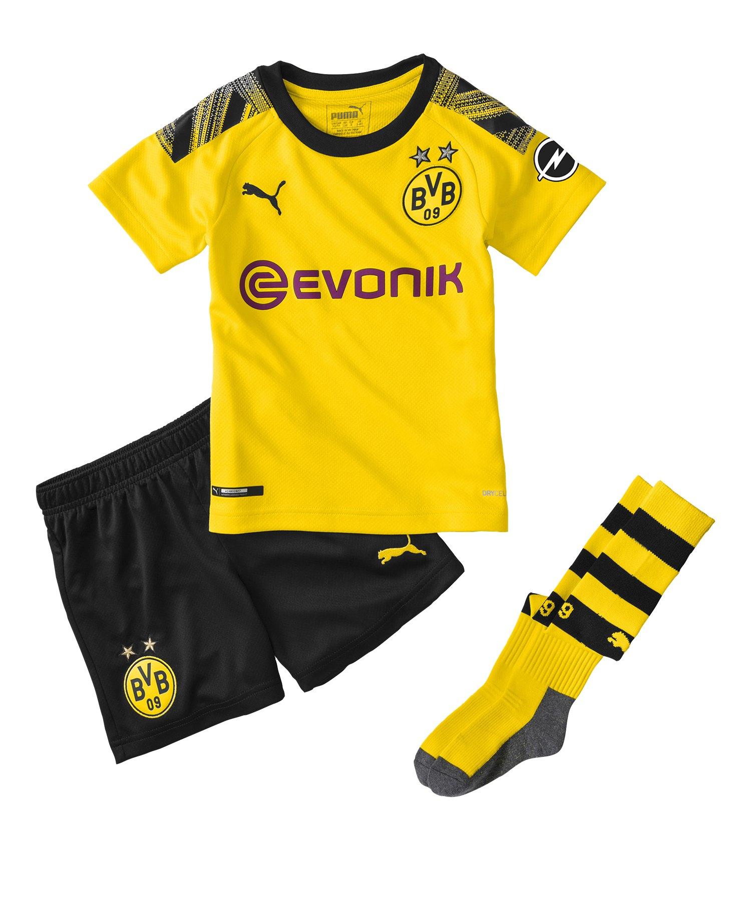 PUMA BVB Dortmund Minikit Home 2019/2020 Gelb F01 - Gelb