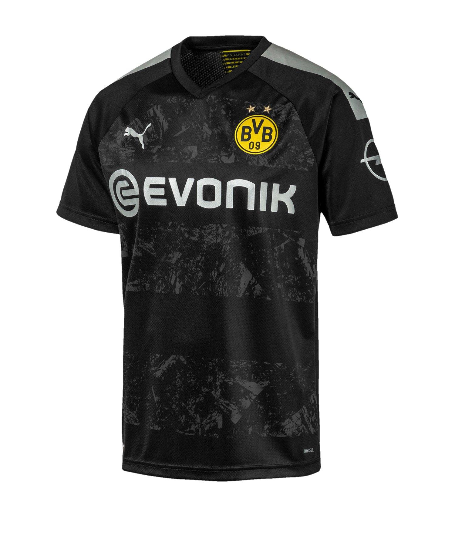 PUMA BVB Dortmund Trikot Away 2019/2020 F12 - Schwarz