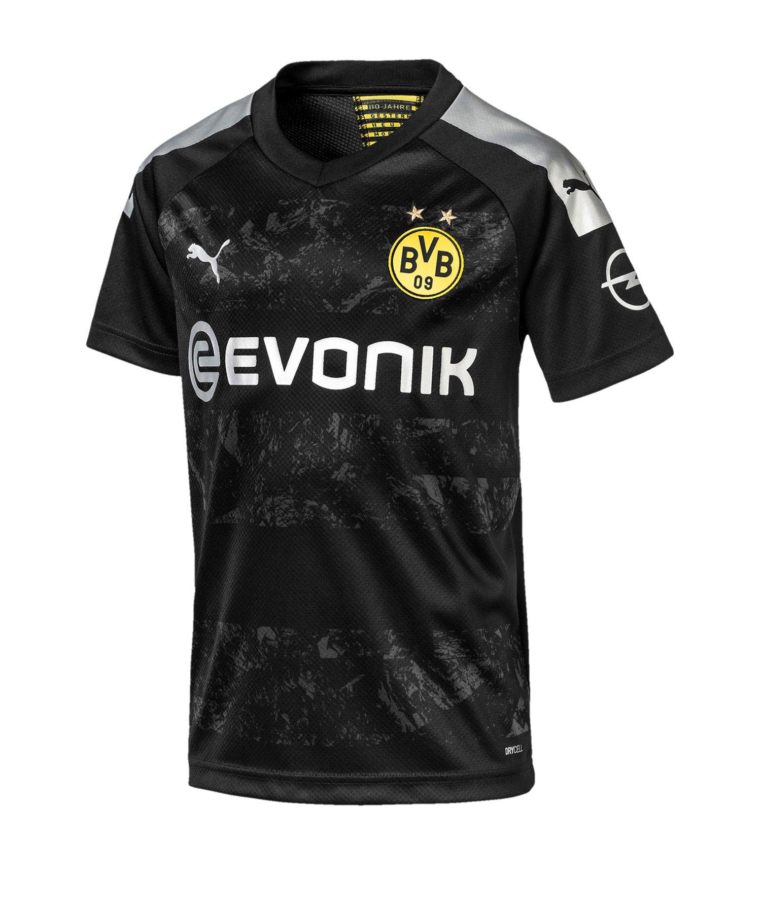 PUMA BVB Dortmund Trikot Away 2019/2020 Kids F12 - Schwarz