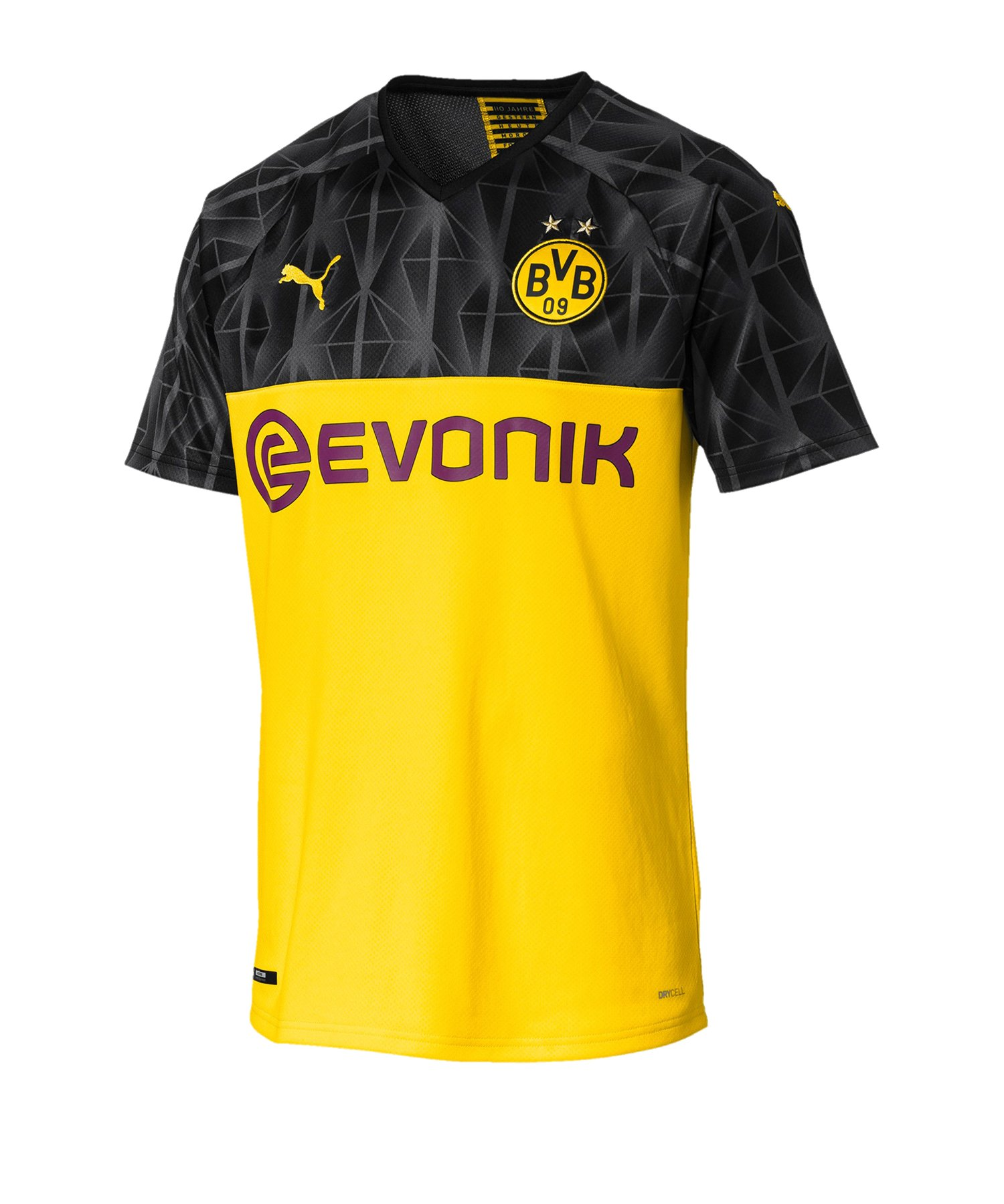 PUMA BVB Dortmund Trikot UCL 2019/2020 Gelb F11 - Gelb