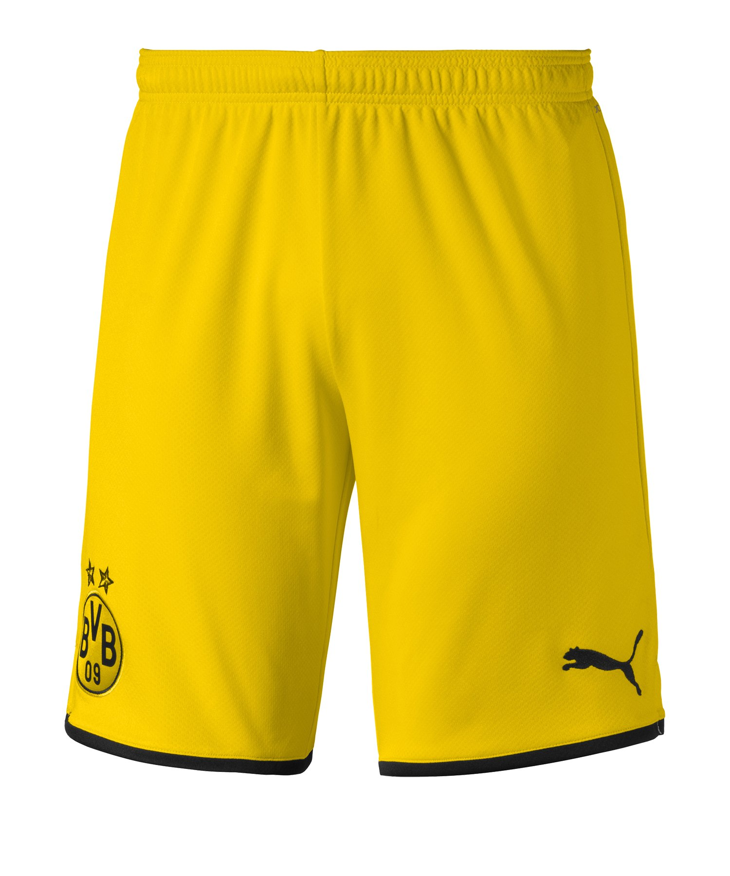 PUMA BVB Dortmund Short Home + UCL 2019/2020 Gelb F01 - Gelb