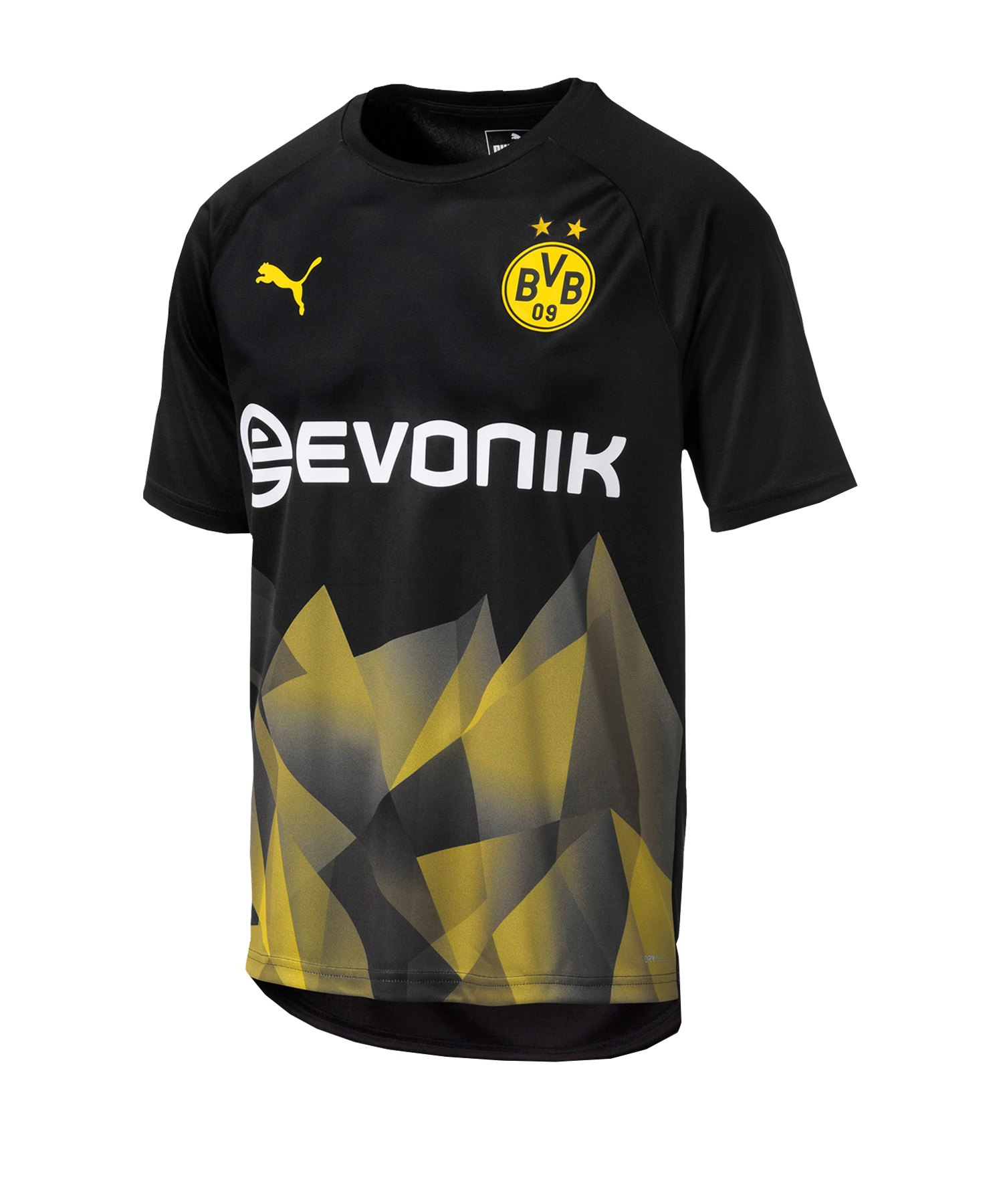 PUMA BVB Dortmund International T-Shirt F02 - Schwarz