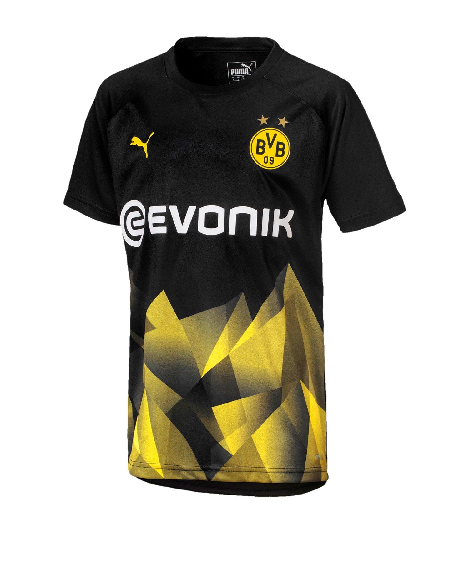 PUMA BVB Dortmund International T-Shirt Kids F02 - Schwarz