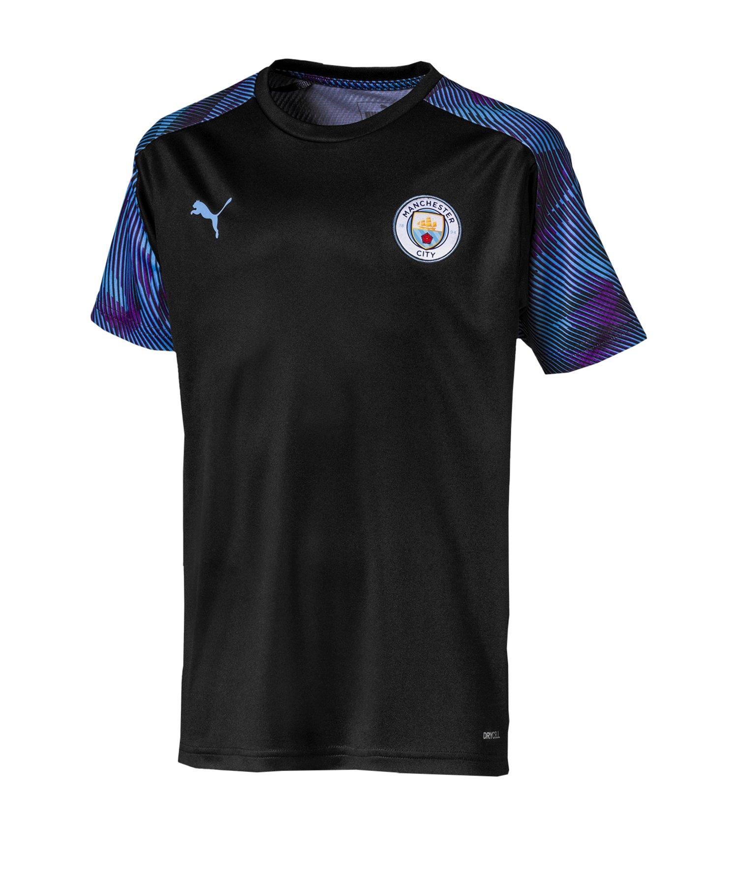 Puma Manchester City Training Trikot Kids F17 - schwarz