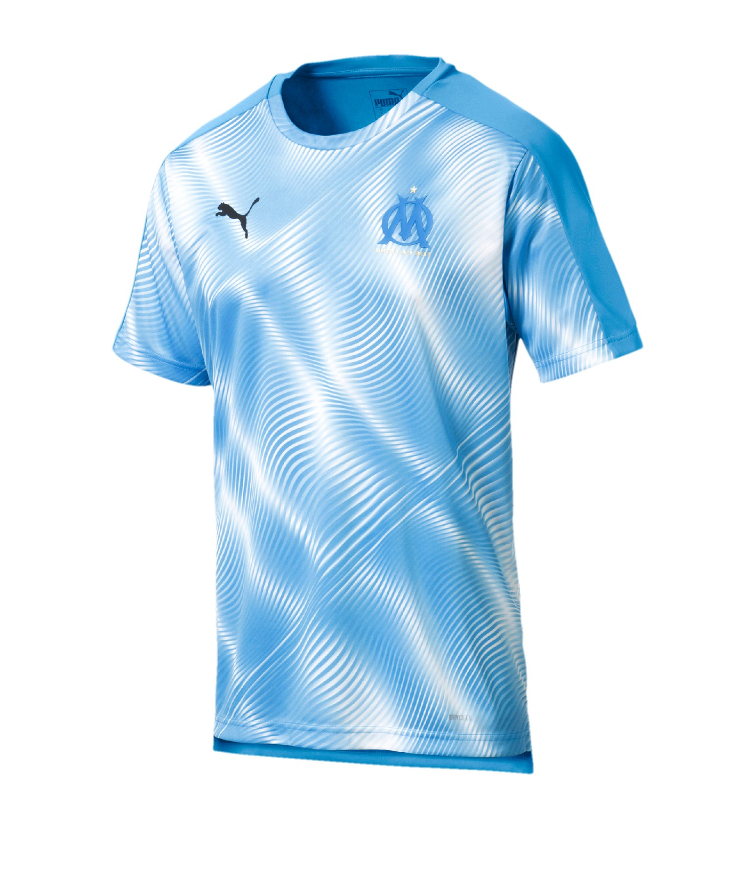 PUMA Olympique Marseille Prematch Shirt Blau F02 - Blau