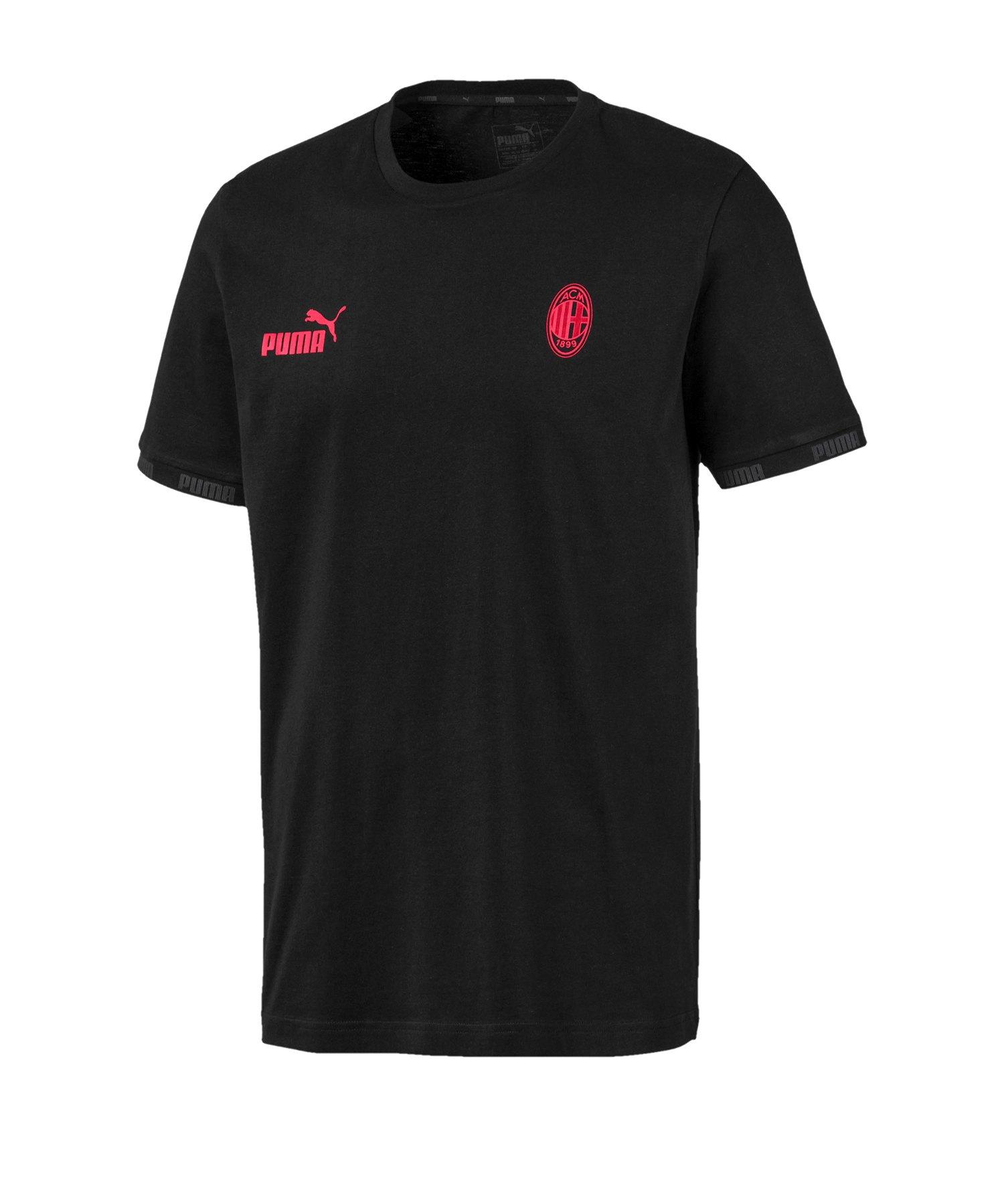PUMA AC Mailand FtblCulture T-Shirt Schwarz F03 - Schwarz
