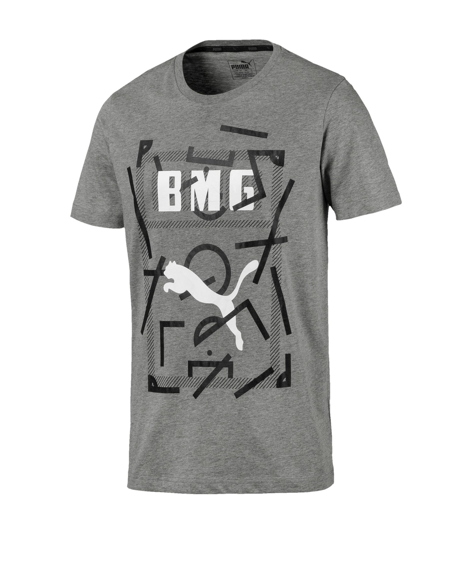 PUMA Borussia Mönchengladbach DNA T-Shirt Grau F15 - Grau