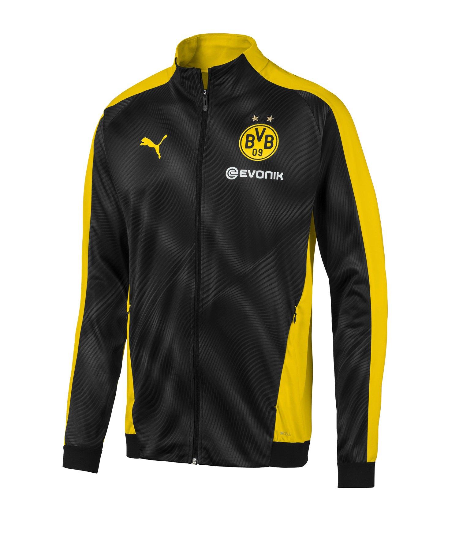 PUMA BVB Dortmund League Coachjacke Gelb F01 - Gelb