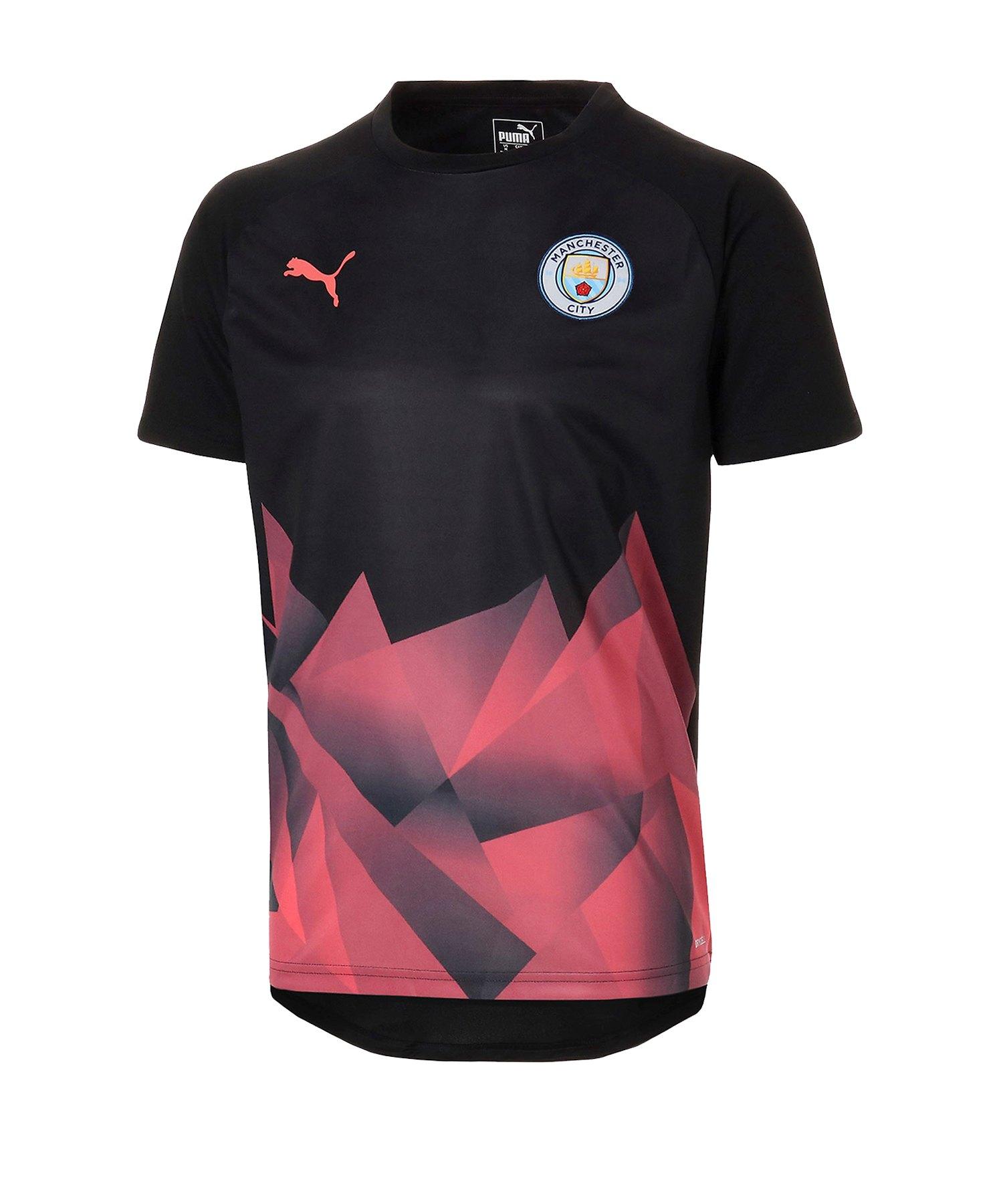 PUMA Manchester City Prematch Shirt UCL F30 - Schwarz