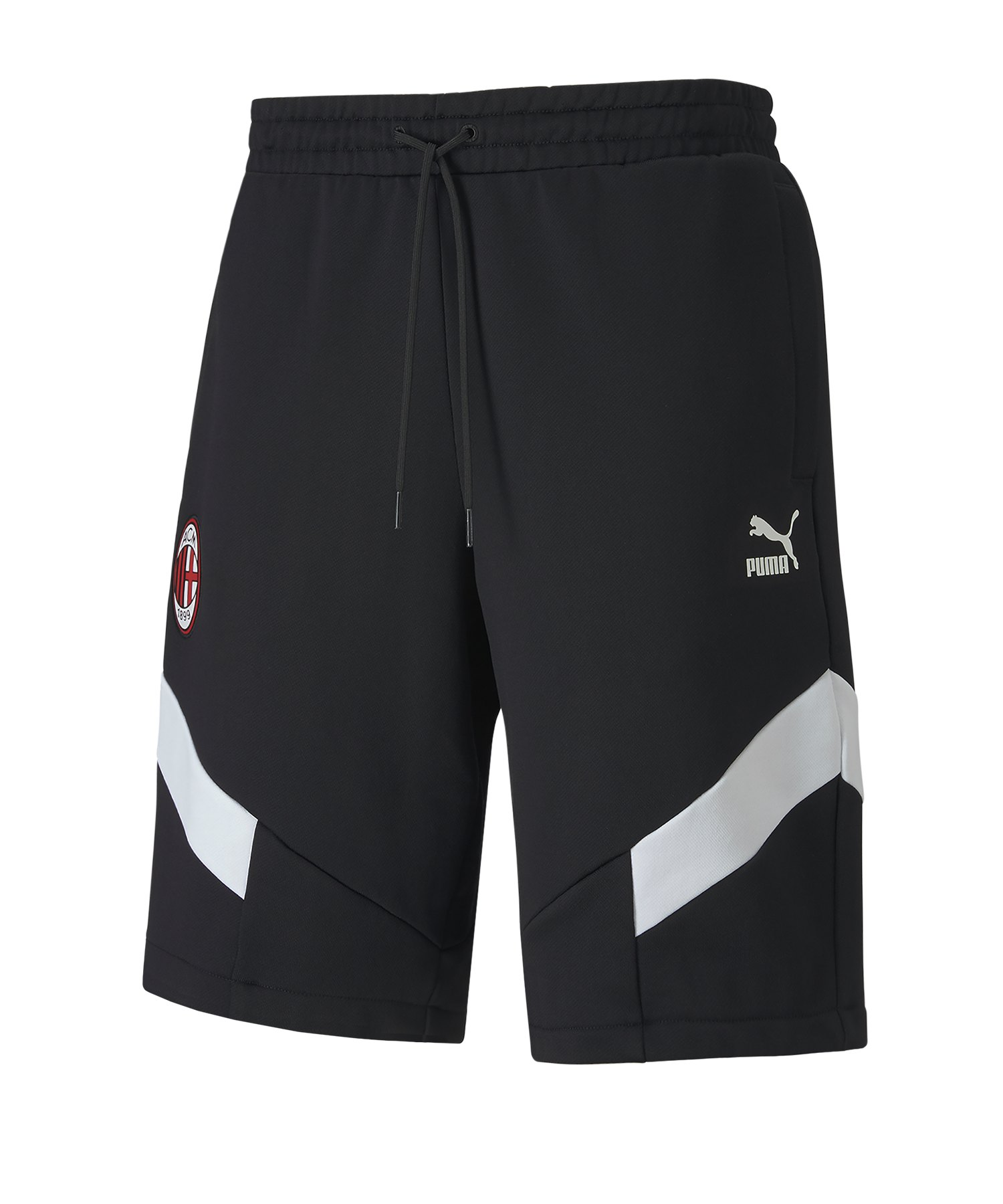 PUMA AC Mailand Iconic MCS Short Schwarz F01 - schwarz