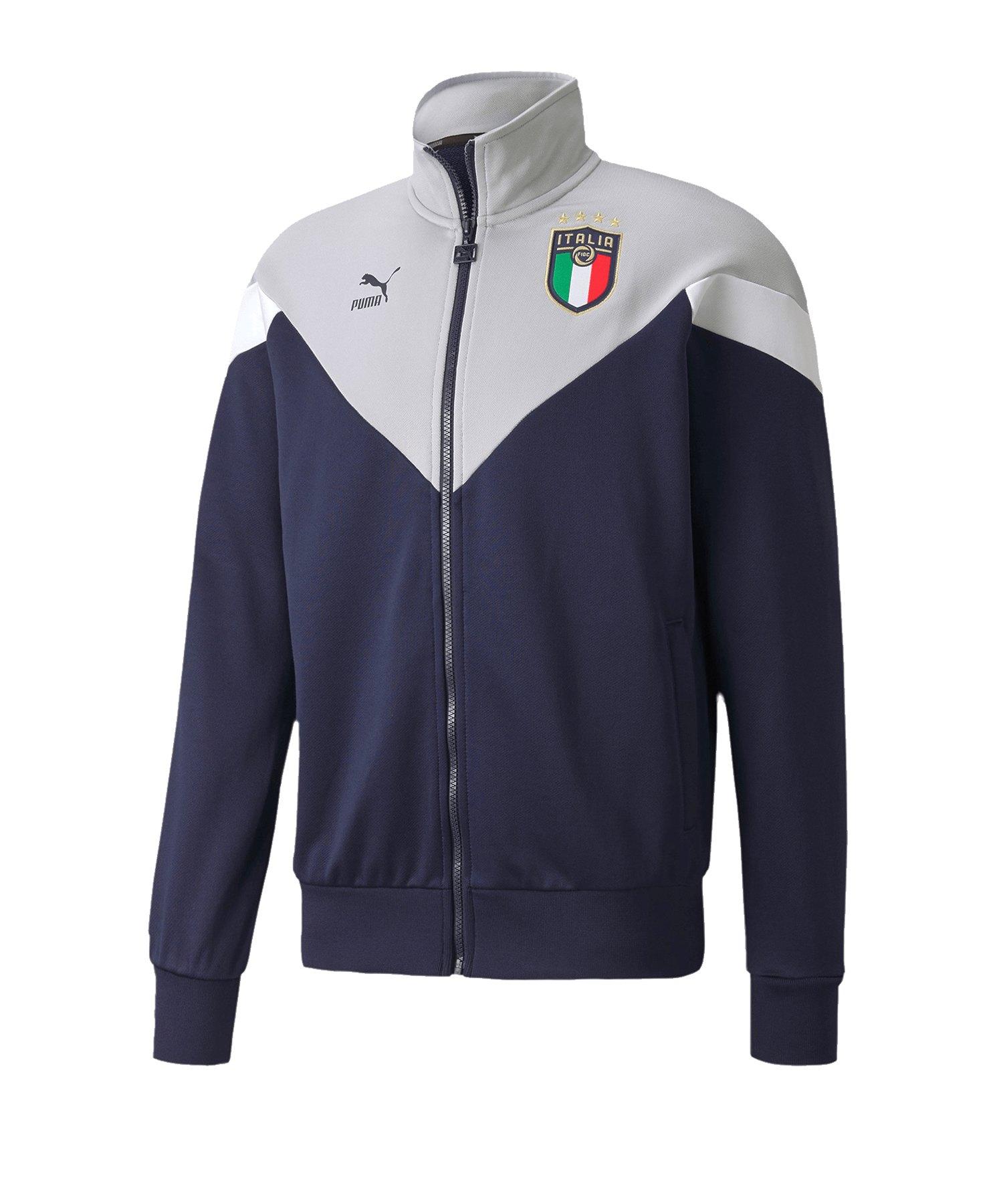 PUMA Italien Iconic Track Jacket Jacke Blau F05 - blau