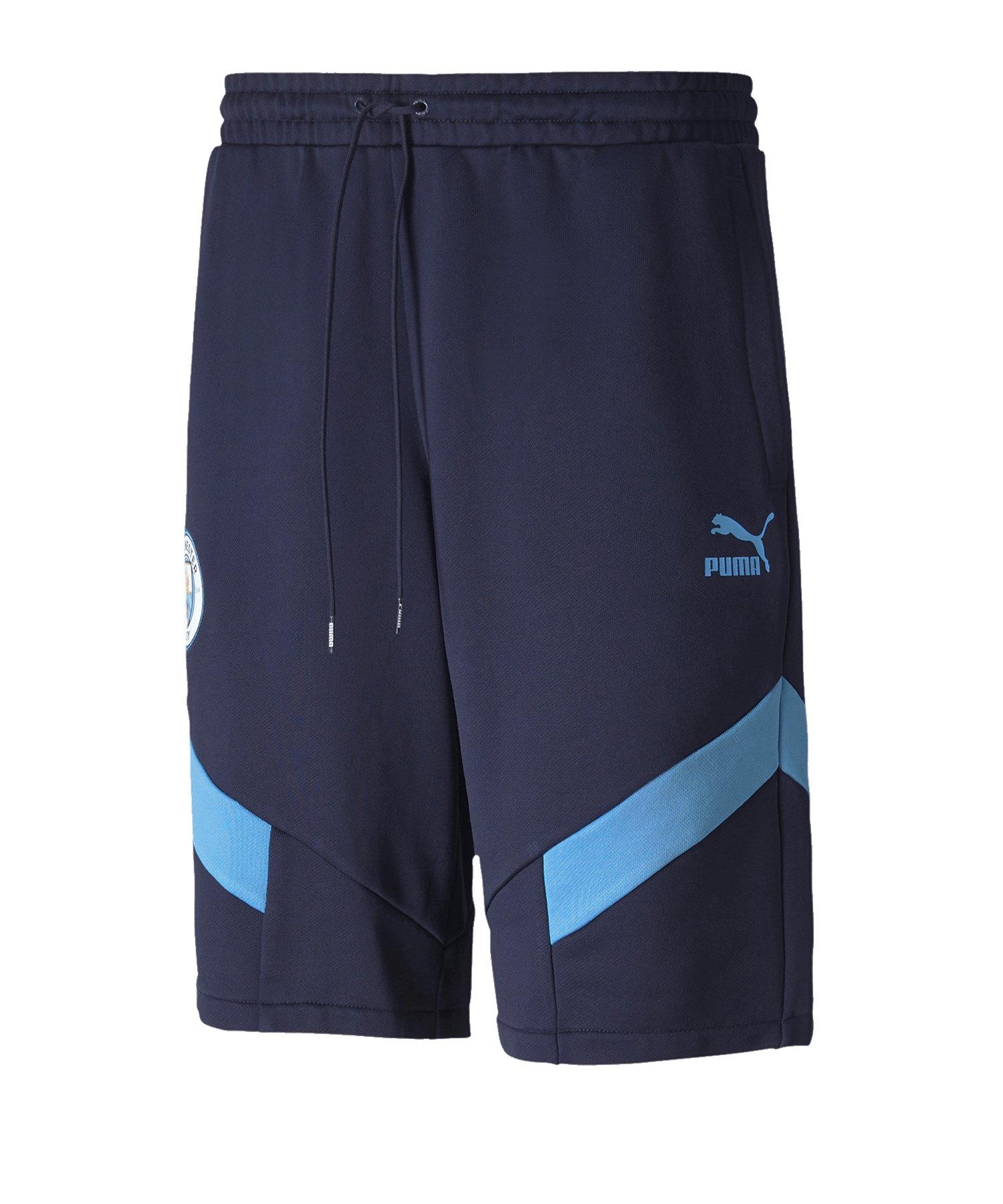 Puma Manchester City Iconic MCS Short Blau F25 - blau
