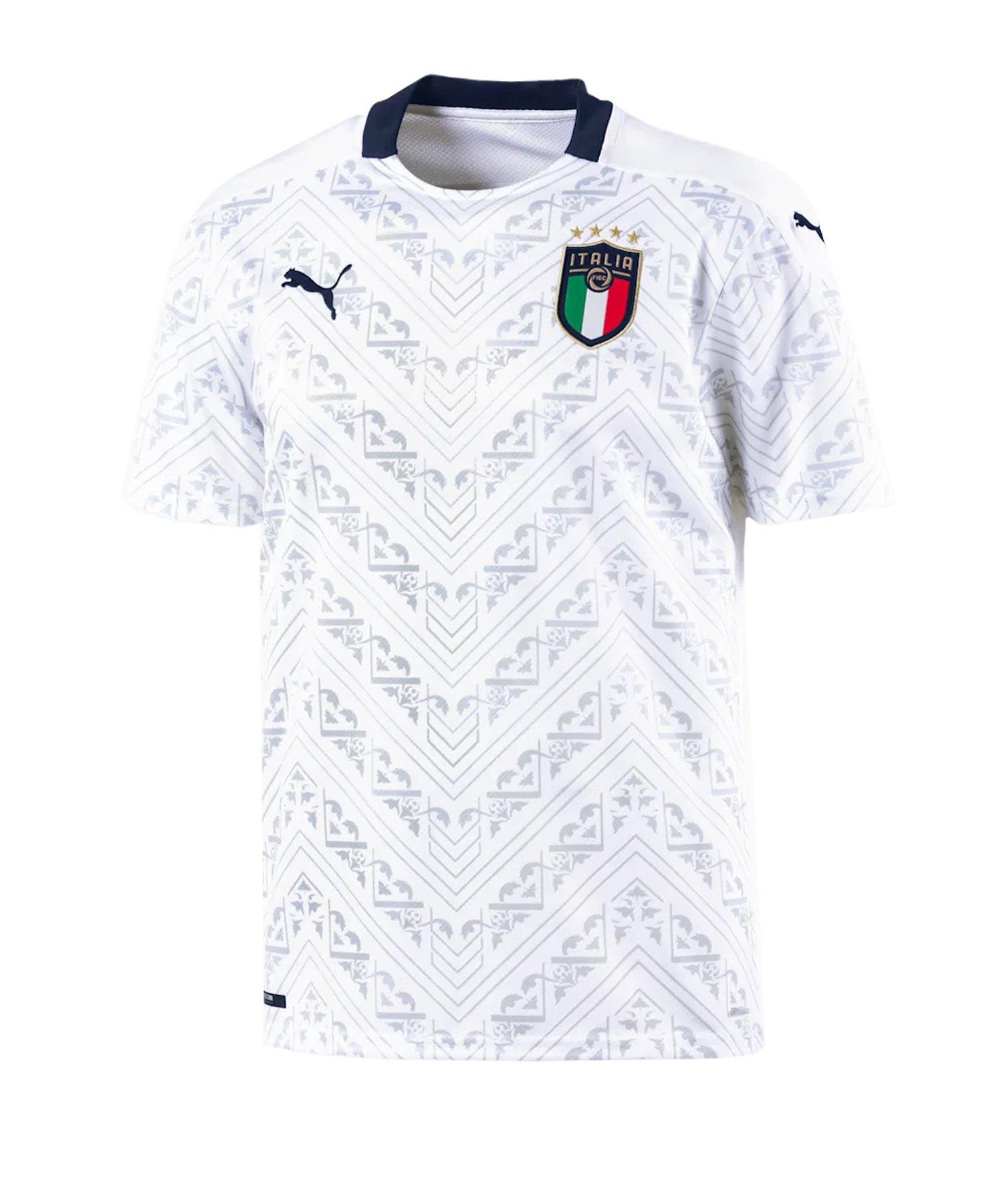 PUMA Italien Away Trikot EM 2021 Weiss F08 - weiss