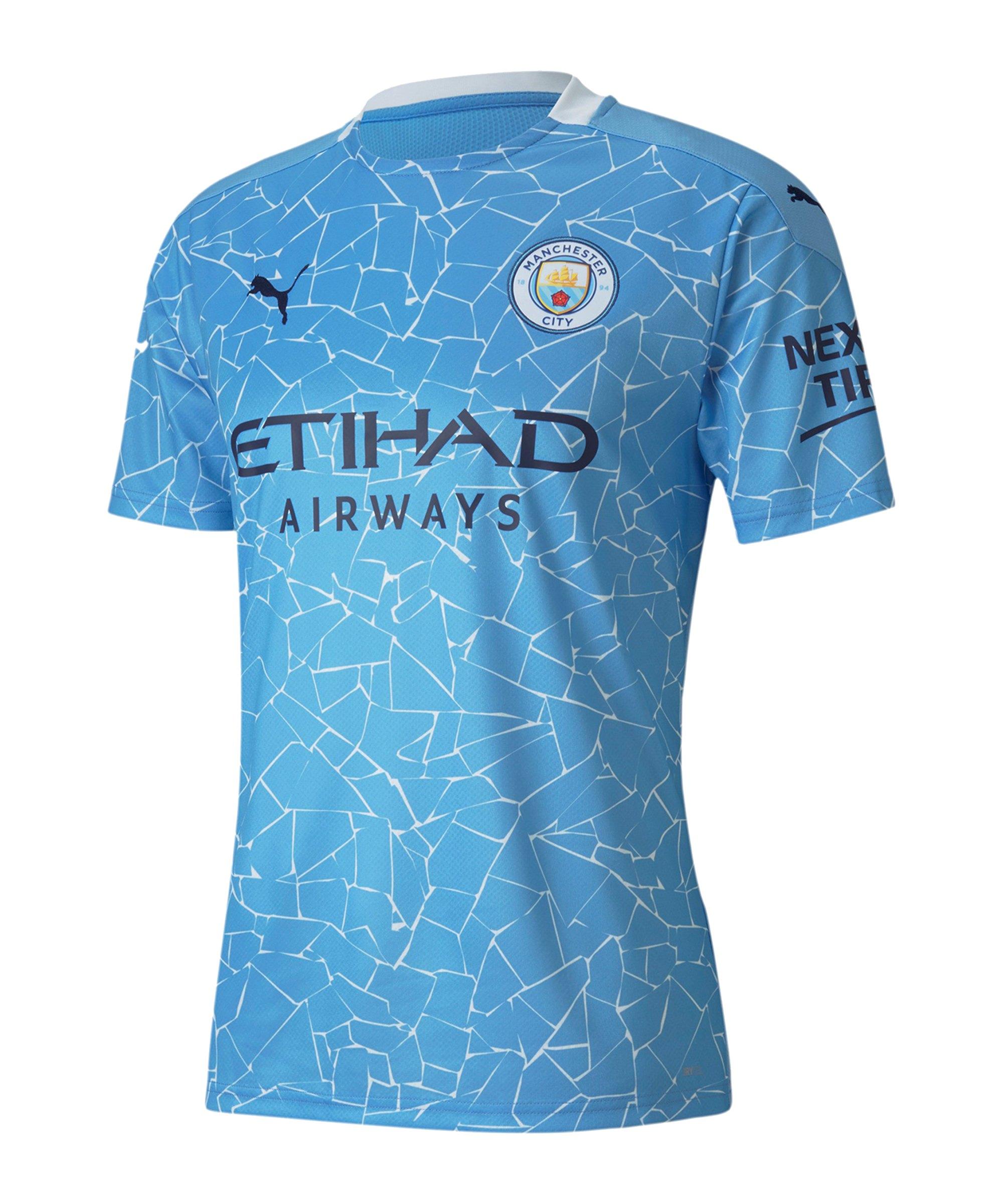 Manchester City Trikot Home 2020/2021 Blau F01 - blau