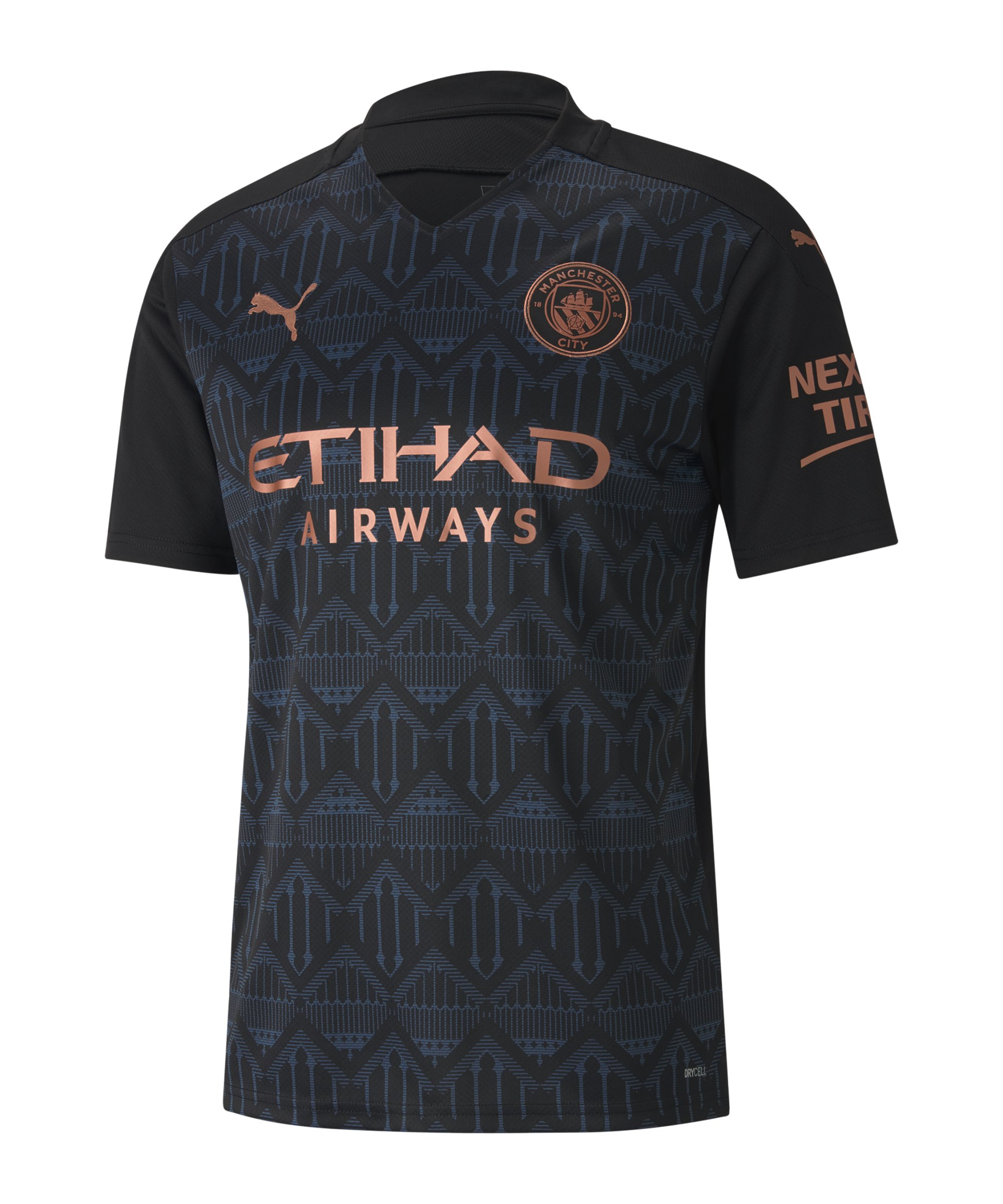 Manchester City Trikot Away 2020/2021 Schwarz F02 - schwarz