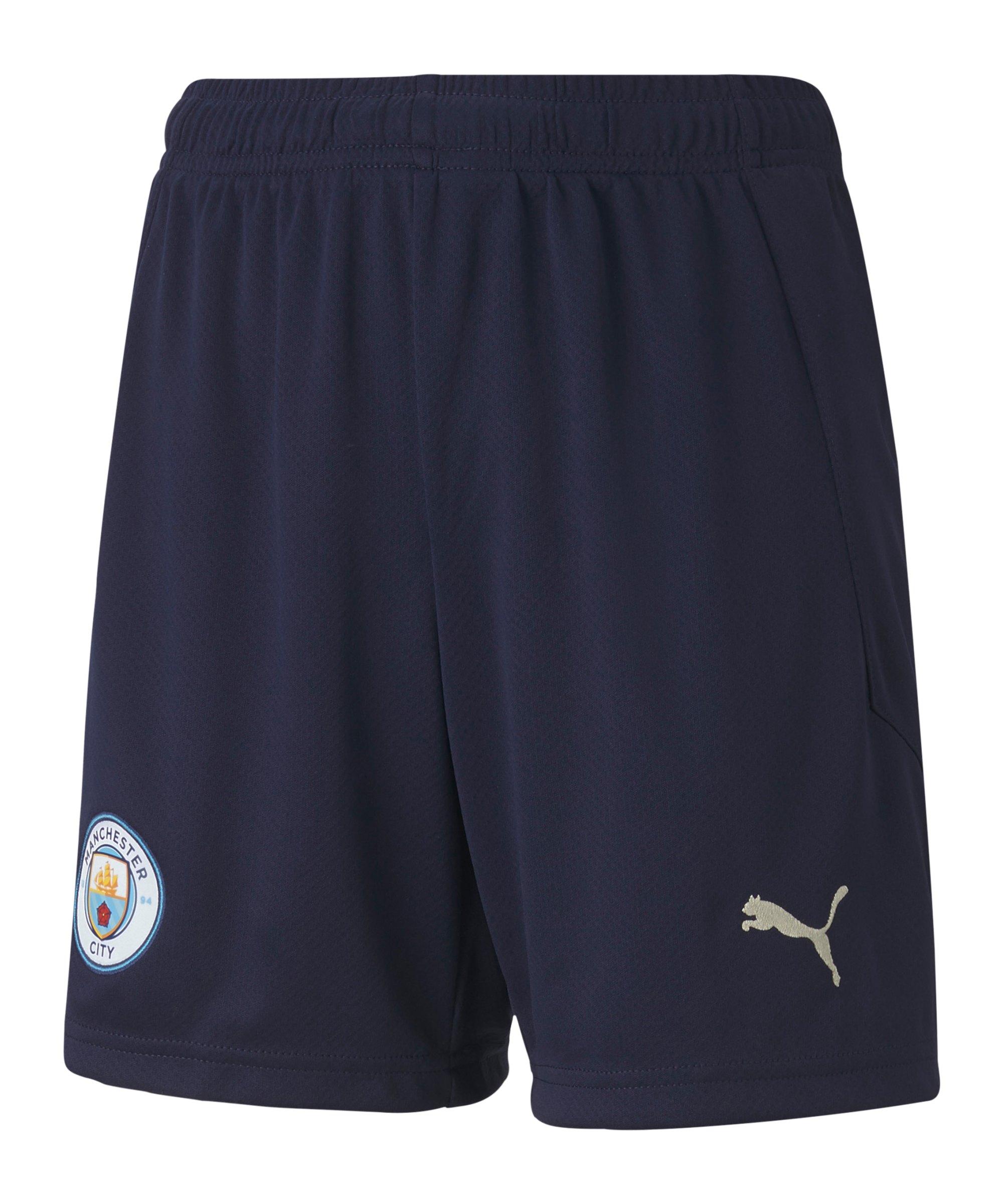 Manchester City Short UCL 2020/2021 Kids Blau F06 - blau