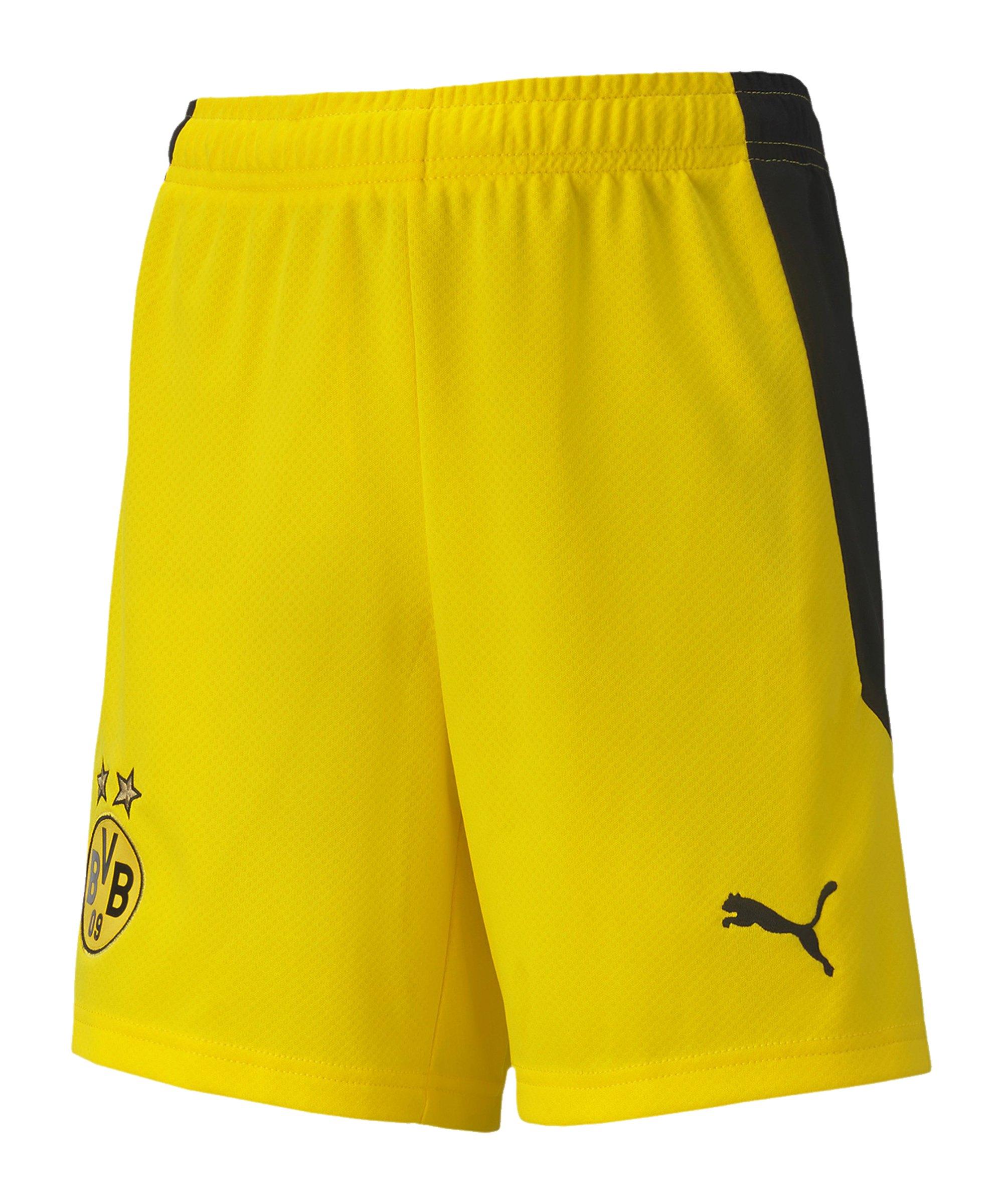 PUMA BVB Dortmund Short Home 2020/2021 Kids Gelb F01 - gelb