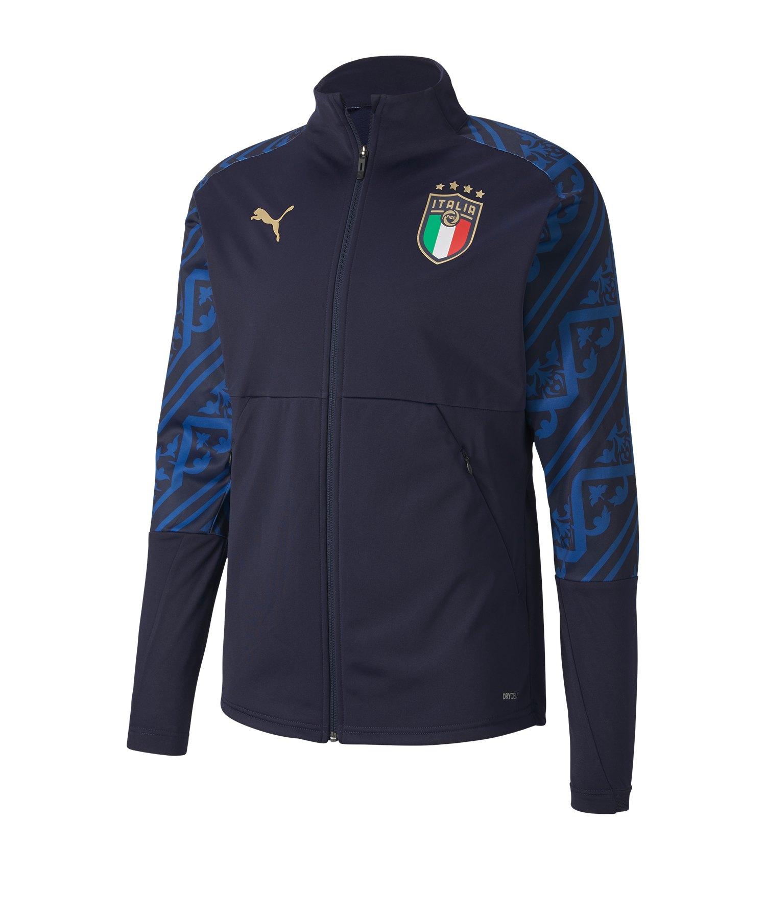 PUMA Italien Stadium Jacke Away EM 2020 Blau F04 - blau