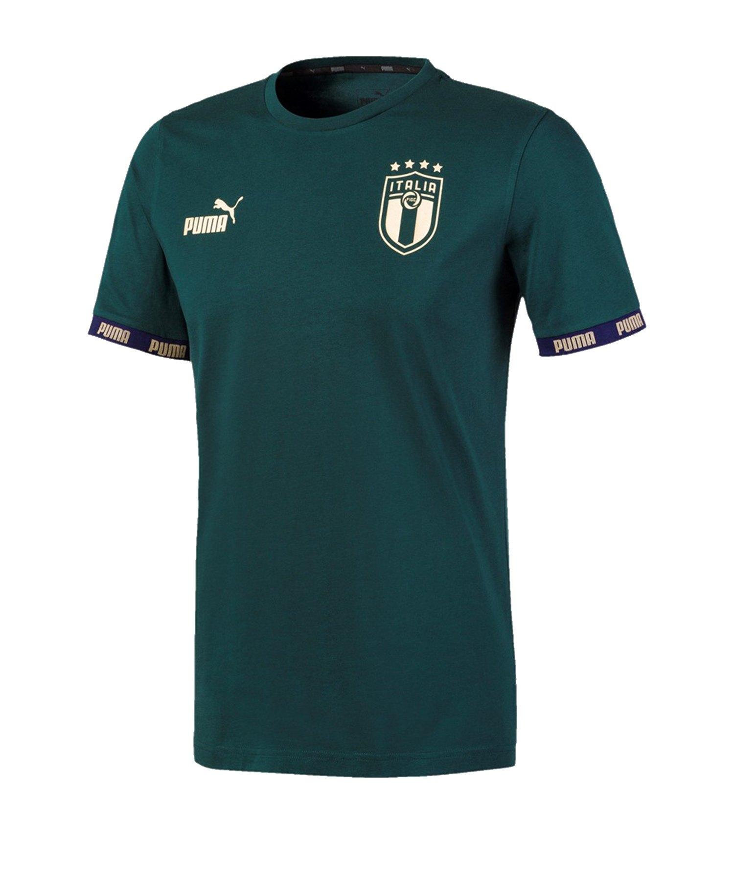 PUMA Italien FtblCulture T-Shirt Grün F03 - gruen