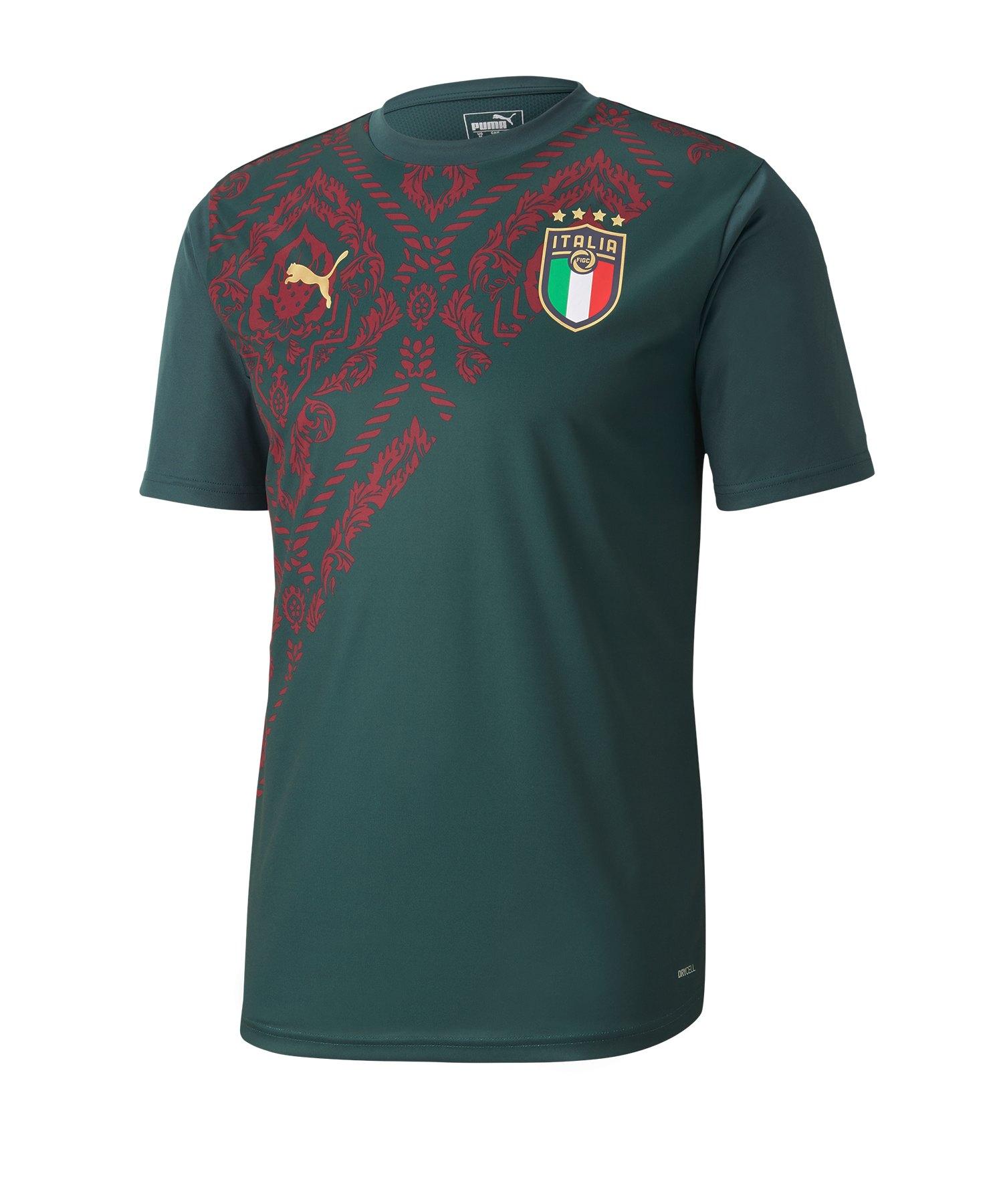 PUMA Italien Stadium T-Shirt Grün F010 - gruen