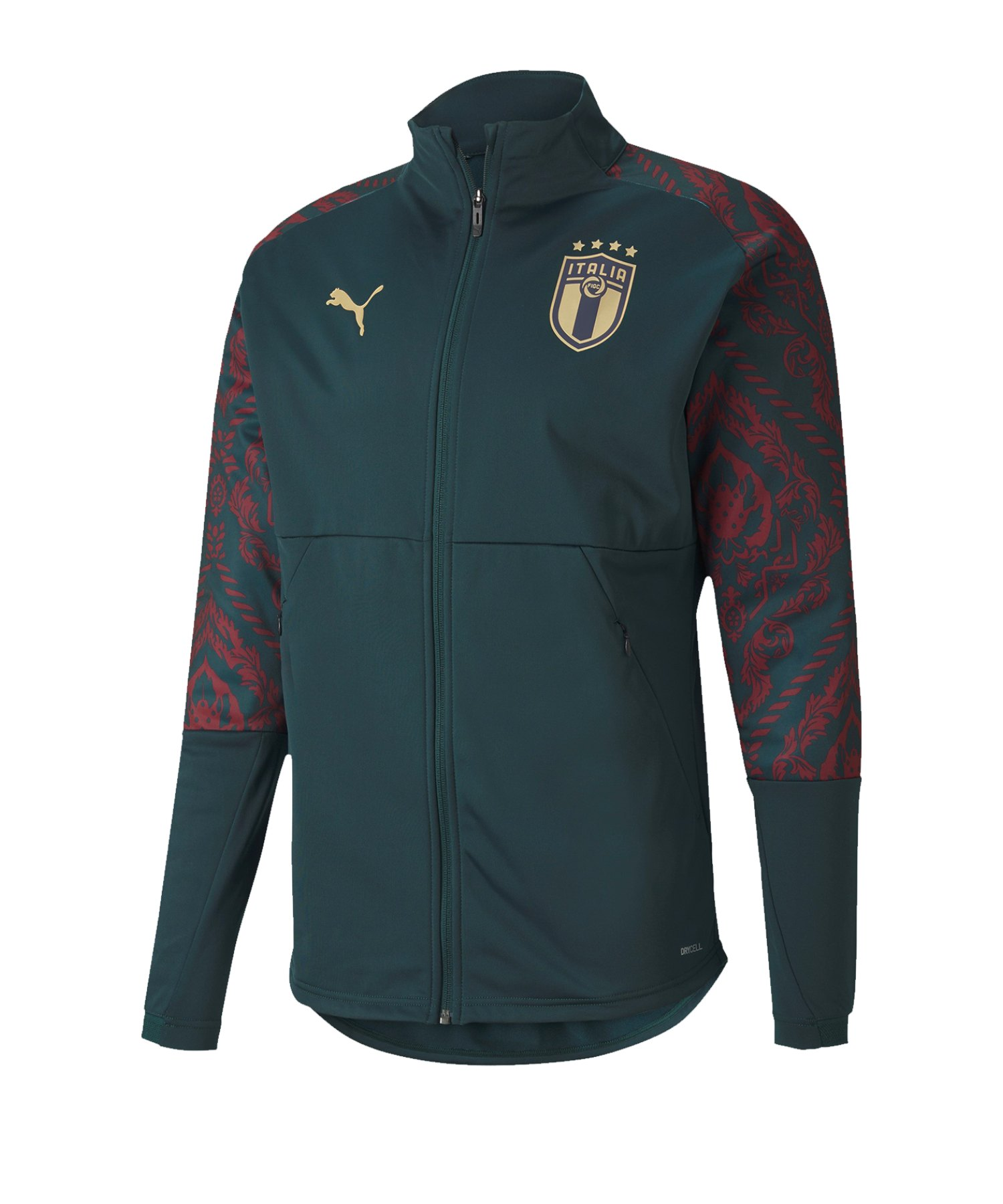 PUMA Italien Stadium Third Jacket Jacke Grün F10 - gruen