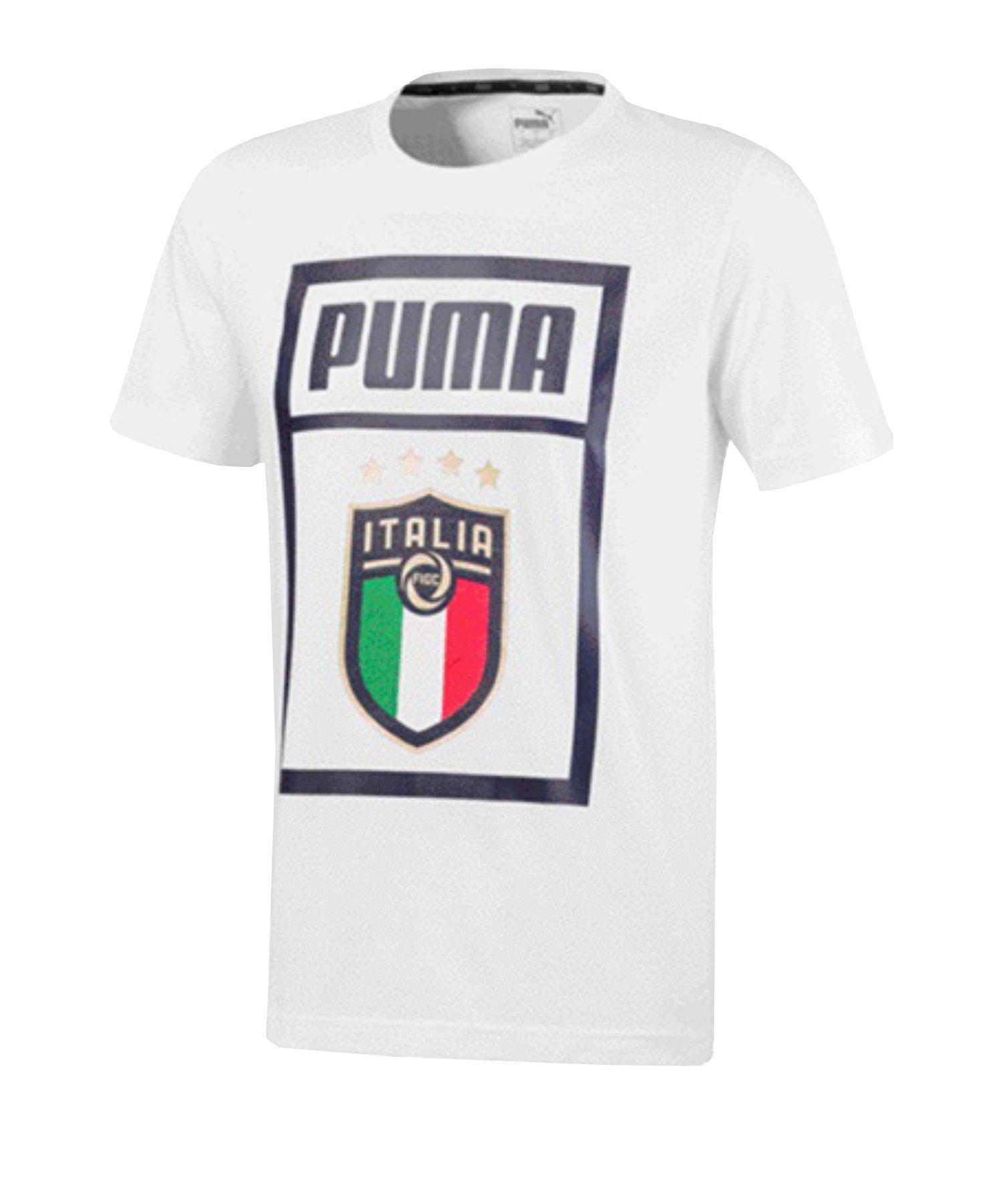 PUMA Italien DNA T-Shirt Weiss F17 - weiss
