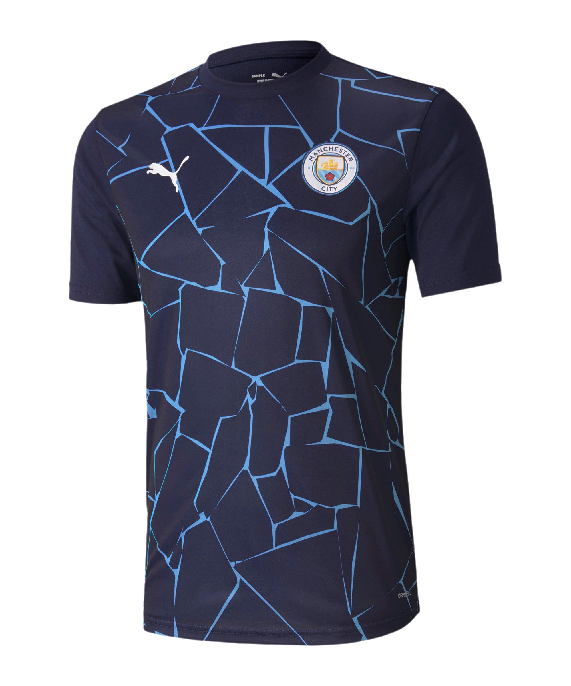 PUMA Manchester City Stadium T-Shirt Blau F07 - blau