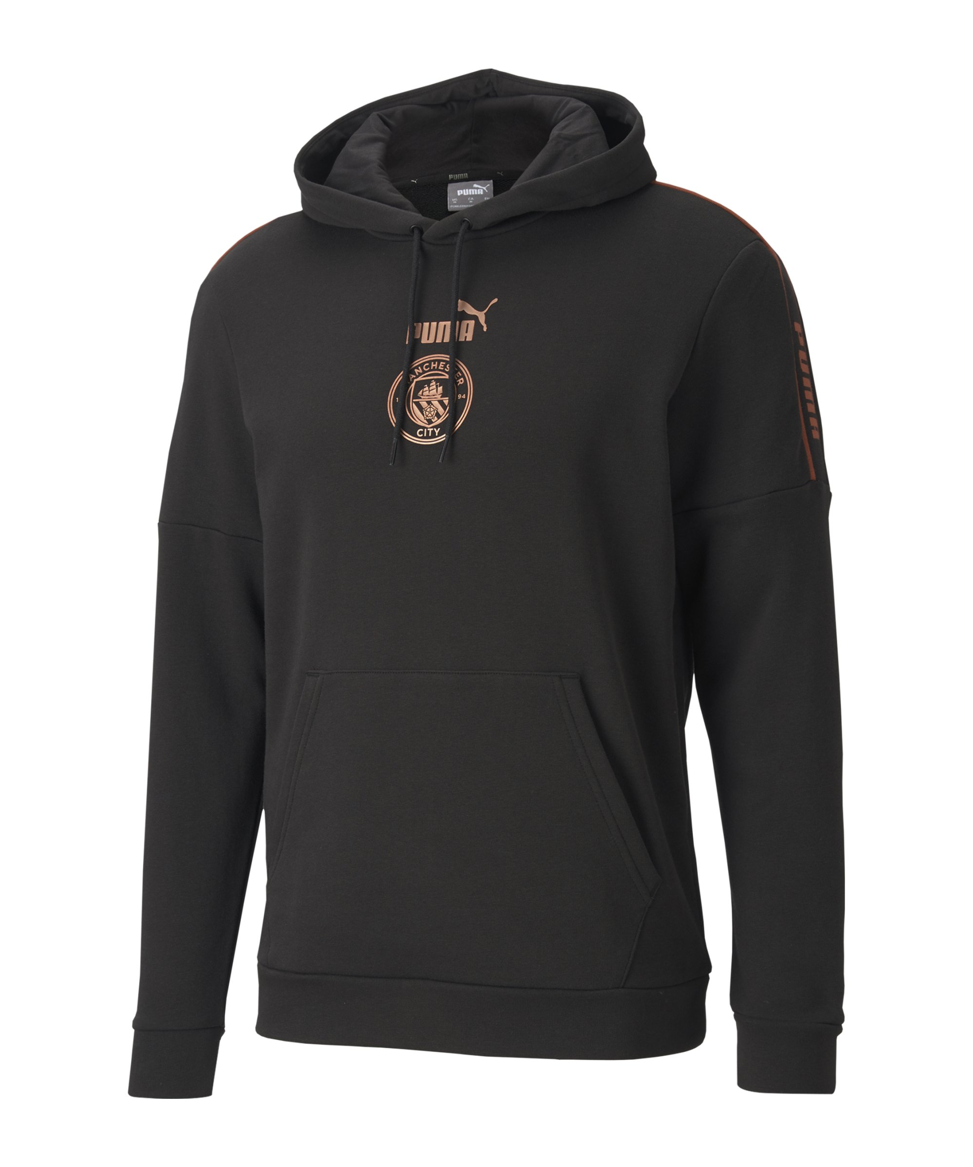 Manchester City ftblCulture Kapuzensweatshirt Schwarz F02 - schwarz