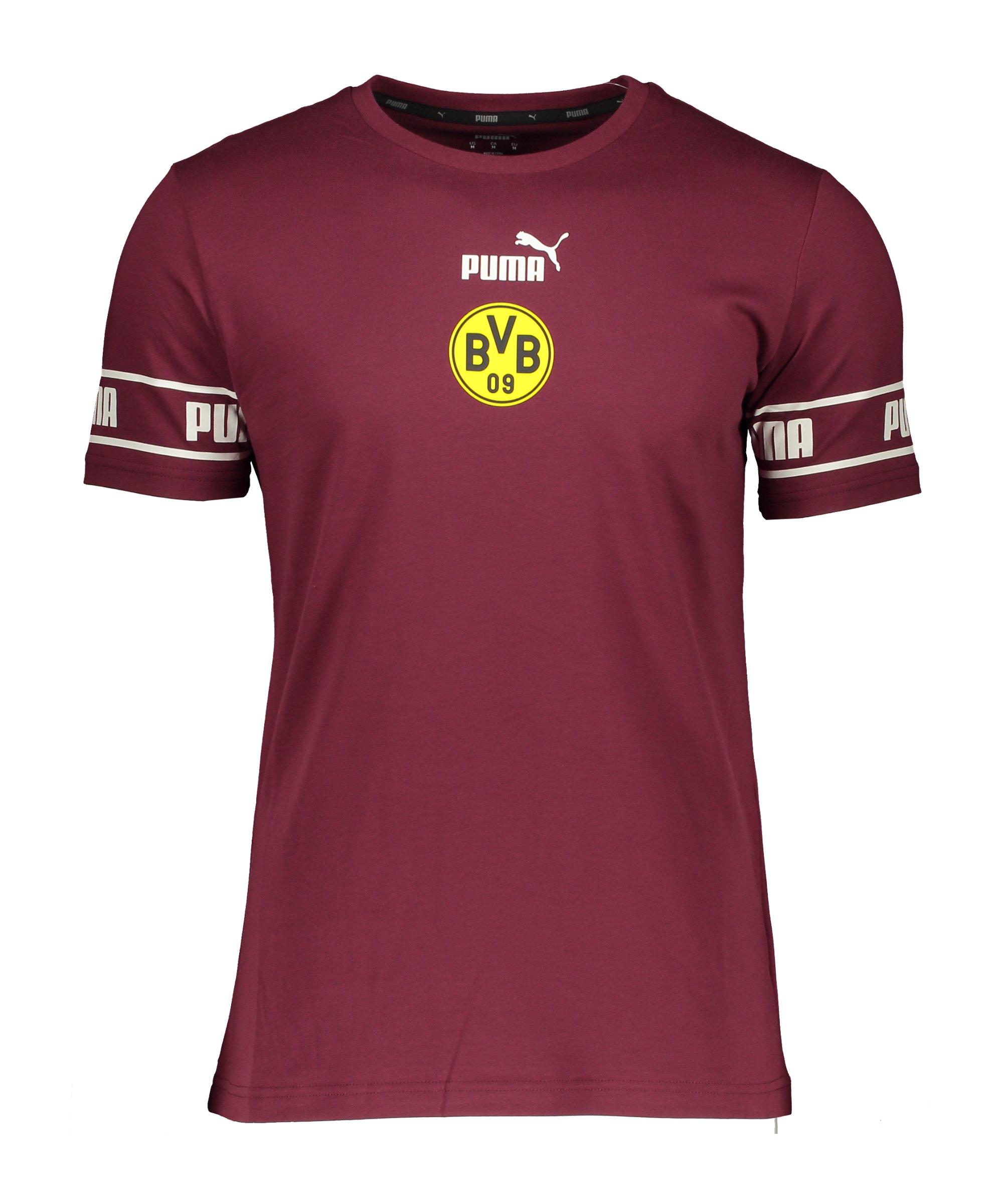 PUMA BVB Dortmund ftblCulture T-Shirt Rot F08 - rot