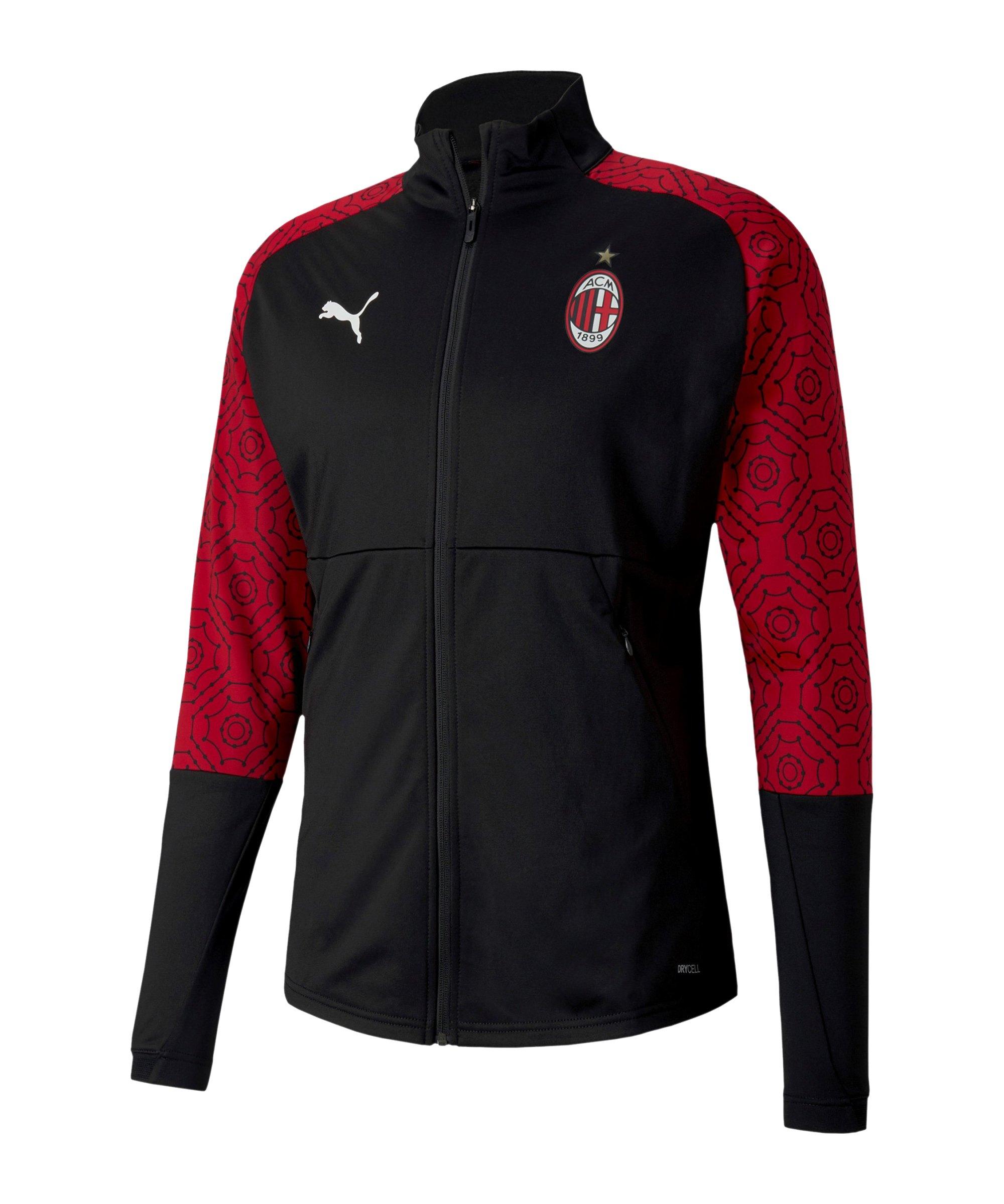 PUMA AC Mailand Stadium Jacke Schwarz F04 - schwarz
