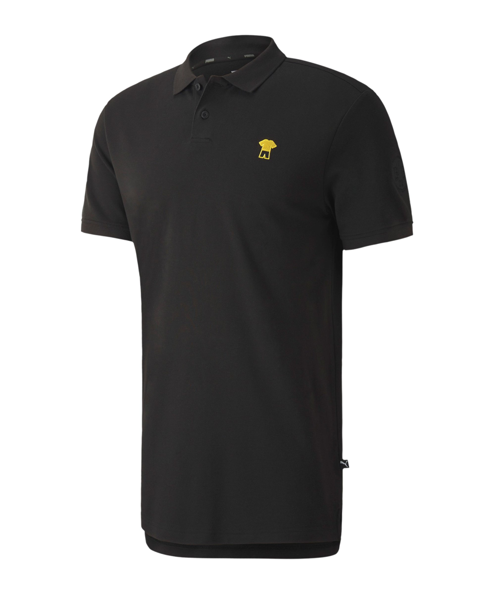 PUMA BVB Dortmund ftblFeat Game Poloshirt F02 - schwarz