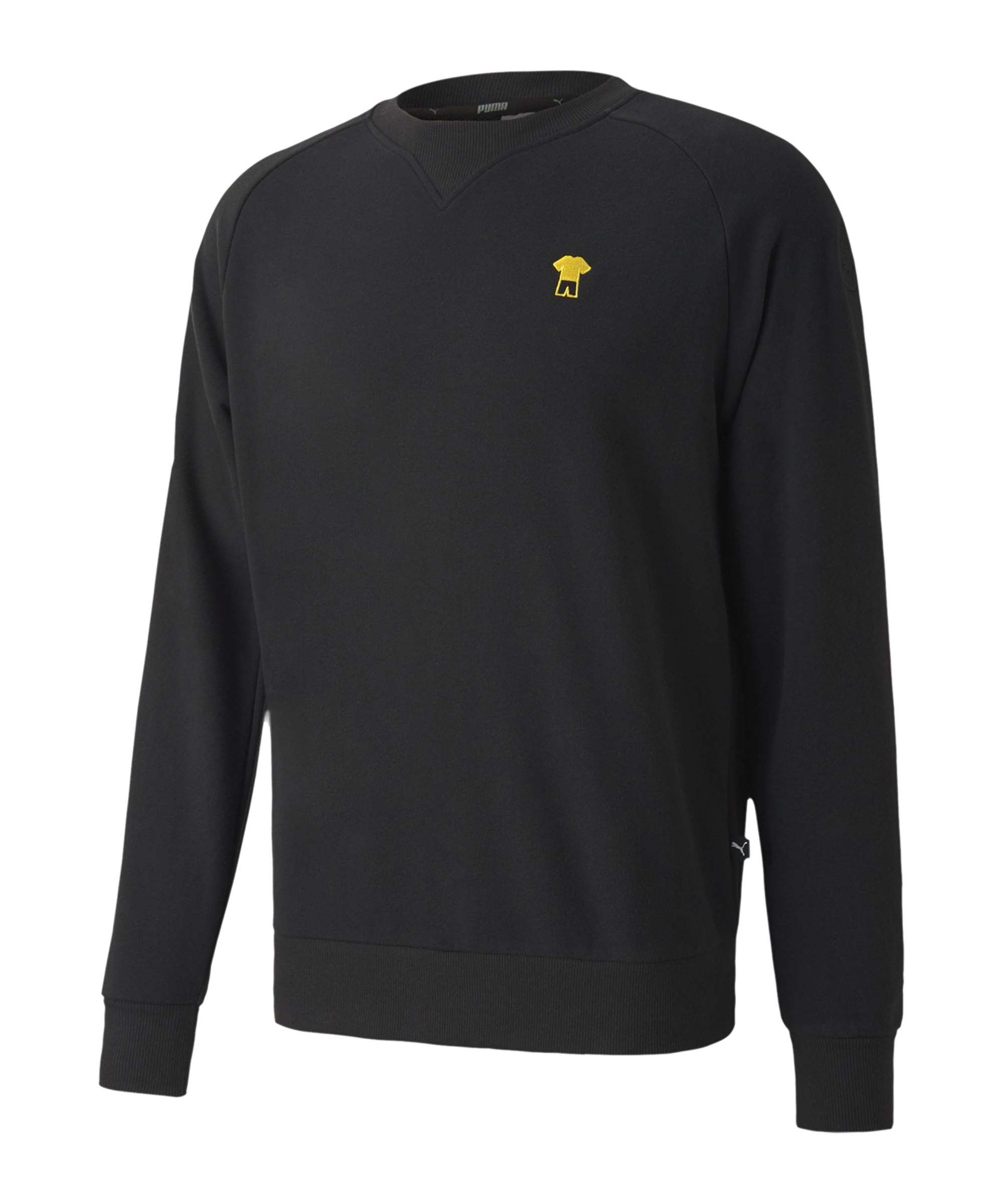 PUMA BVB Dortmund ftblFeat Game Sweatshirt F02 - schwarz