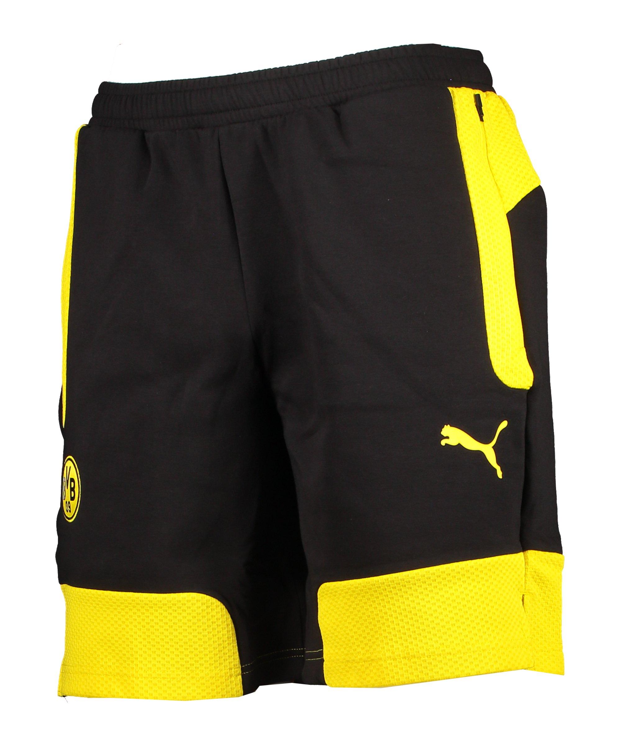 PUMA BVB Dortmund Evostripe Short Gelb F01 - gelb