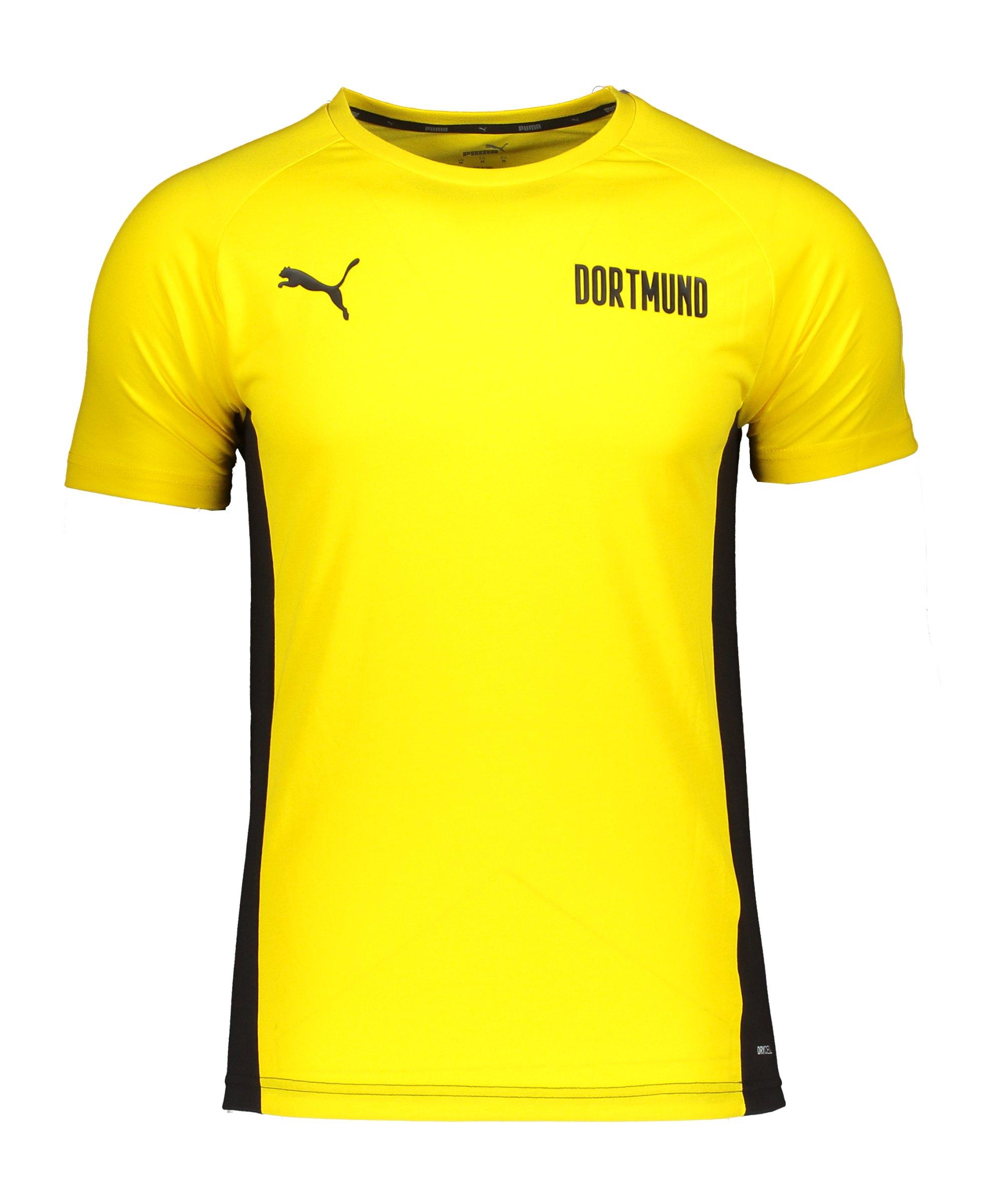 PUMA BVB Dortmund Evostripe T-Shirt Kids Gelb F01 - gelb