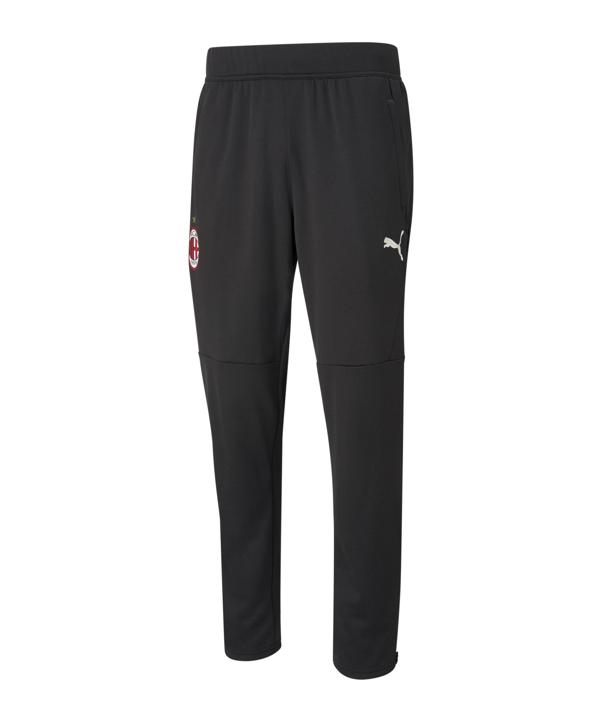 PUMA AC Mailand Warmup Trainingshose F02 - schwarz