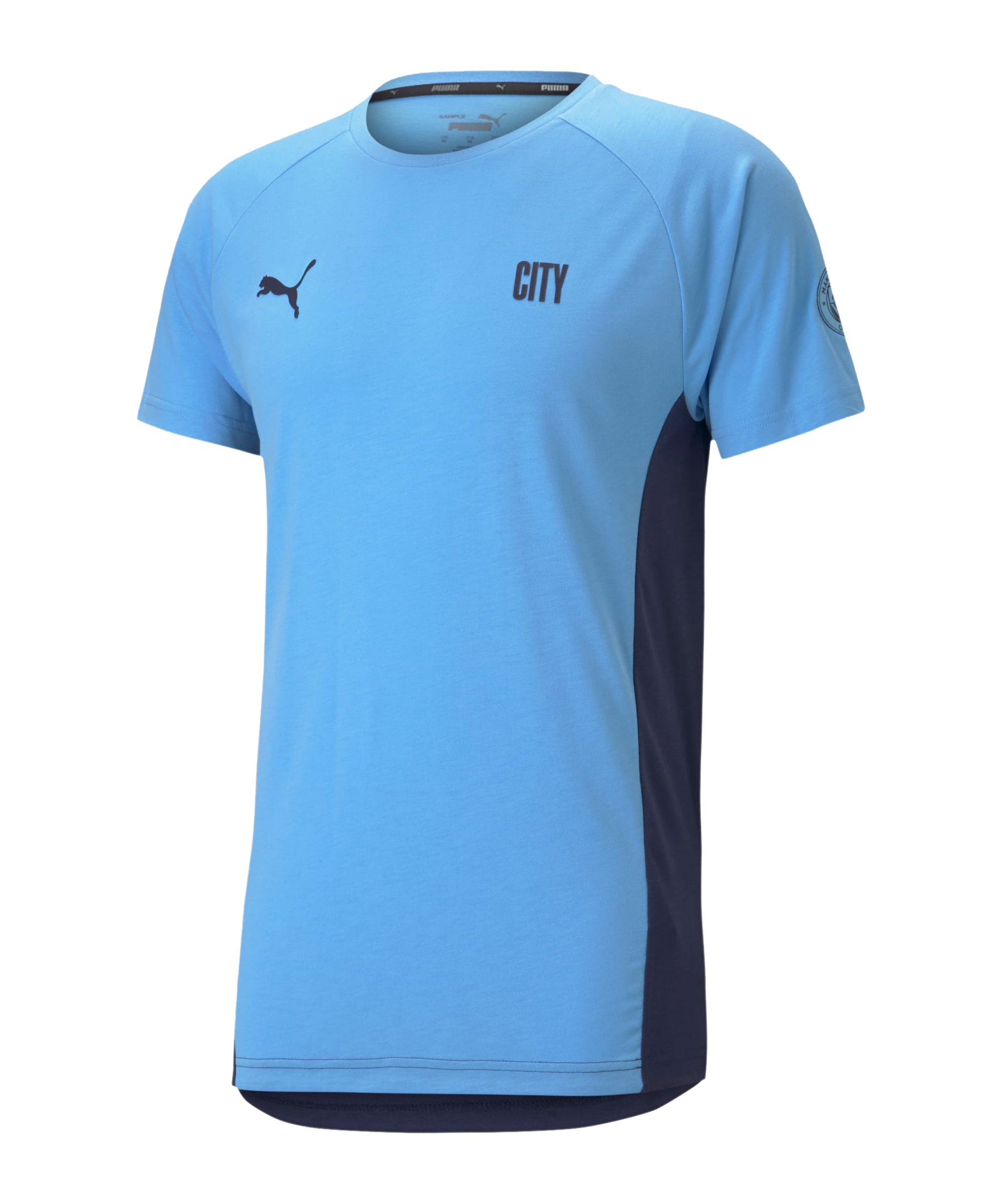 PUMA Manchester City T-Shirt Blau F01 - blau