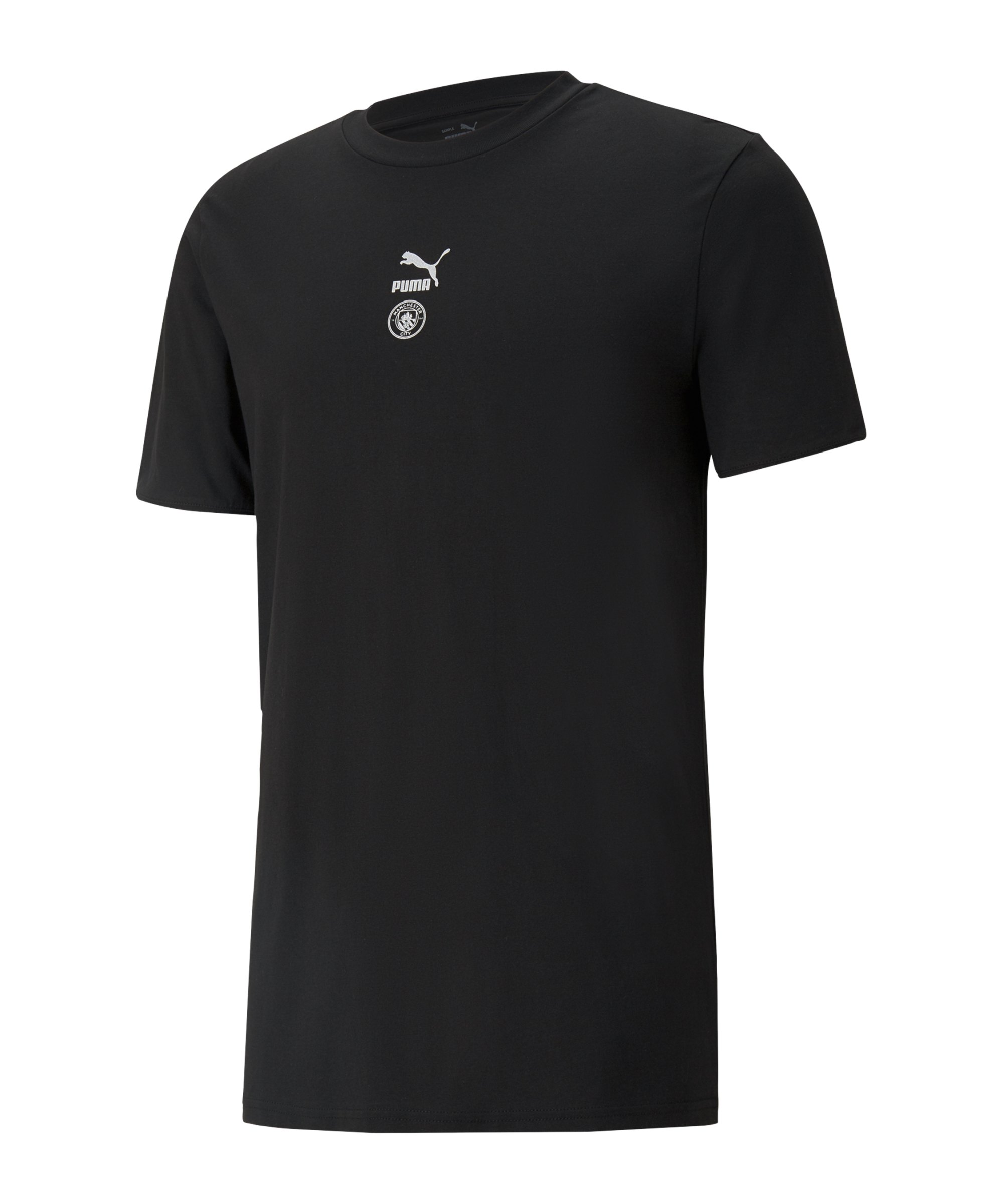 PUMA Manchester City TFS T-Shirt Schwarz F11 - schwarz