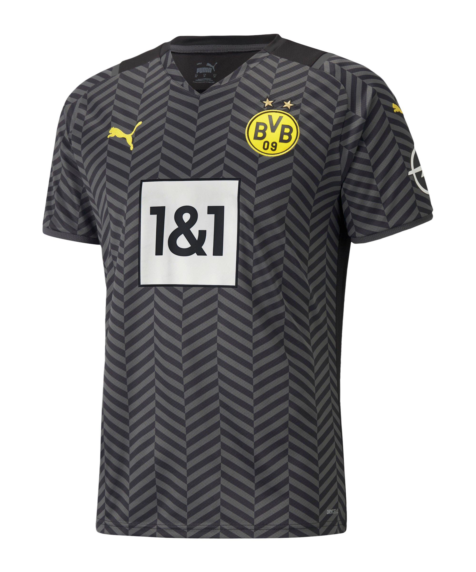 PUMA BVB Dortmund Trikot Away 2021/2022 Grau F04 - grau