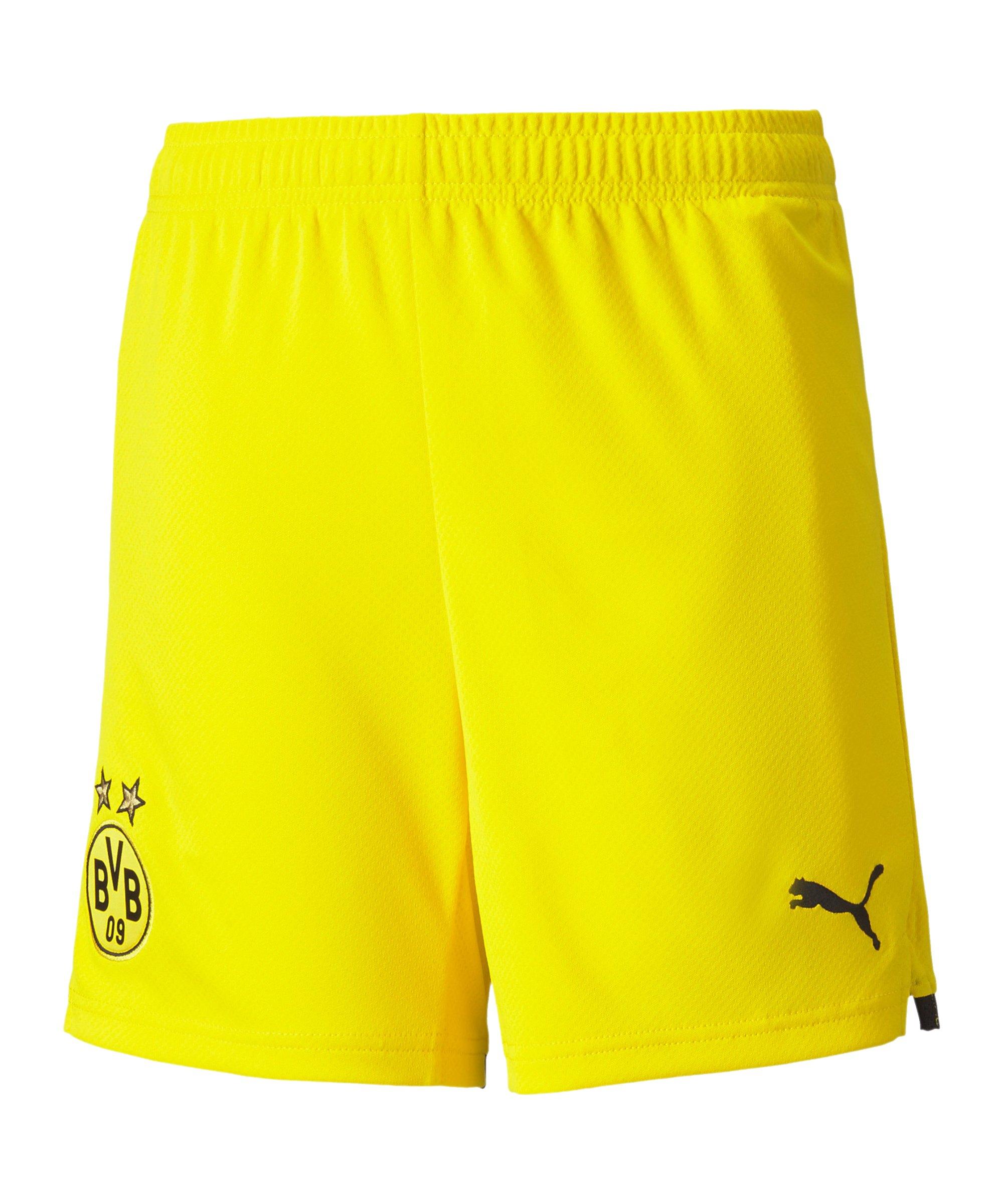 PUMA BVB Dortmund Short Home 2021/2022 Gelb F01 - gelb