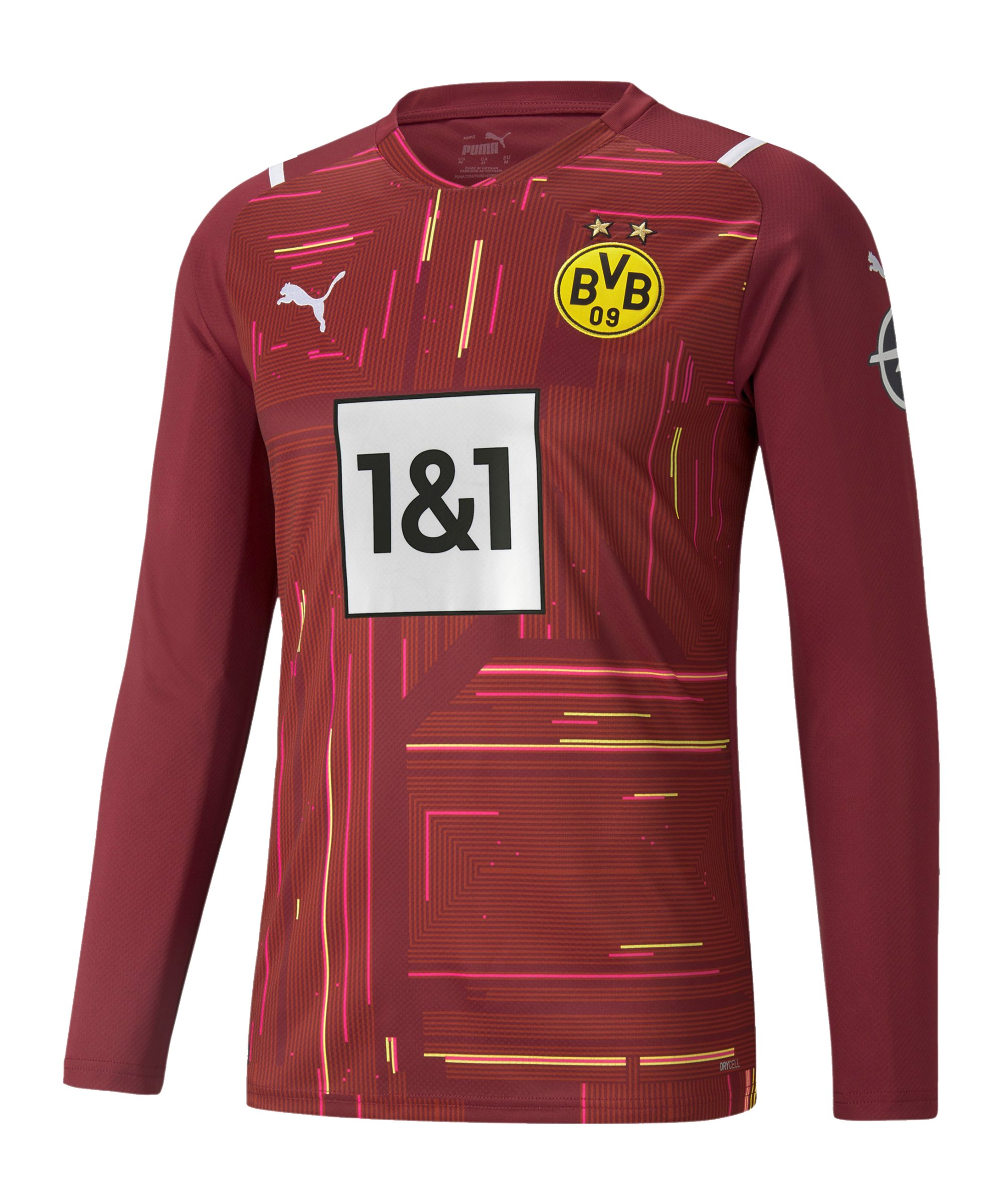 PUMA BVB Dortmund Torwarttrikot 2021/2022 Rot F48 - rot
