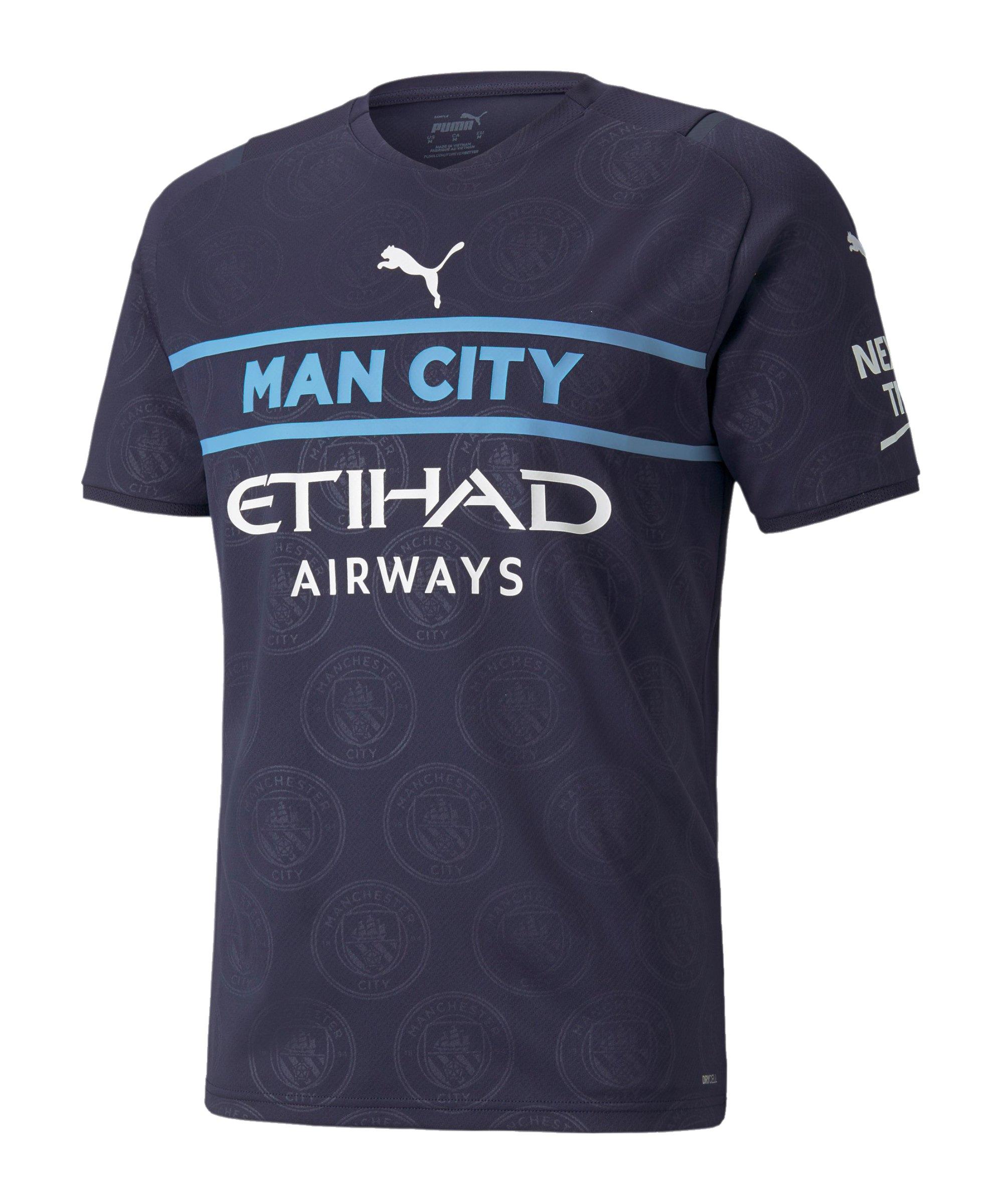 PUMA Manchester City Trikot UCL 2021/2022 Blau F03 - blau