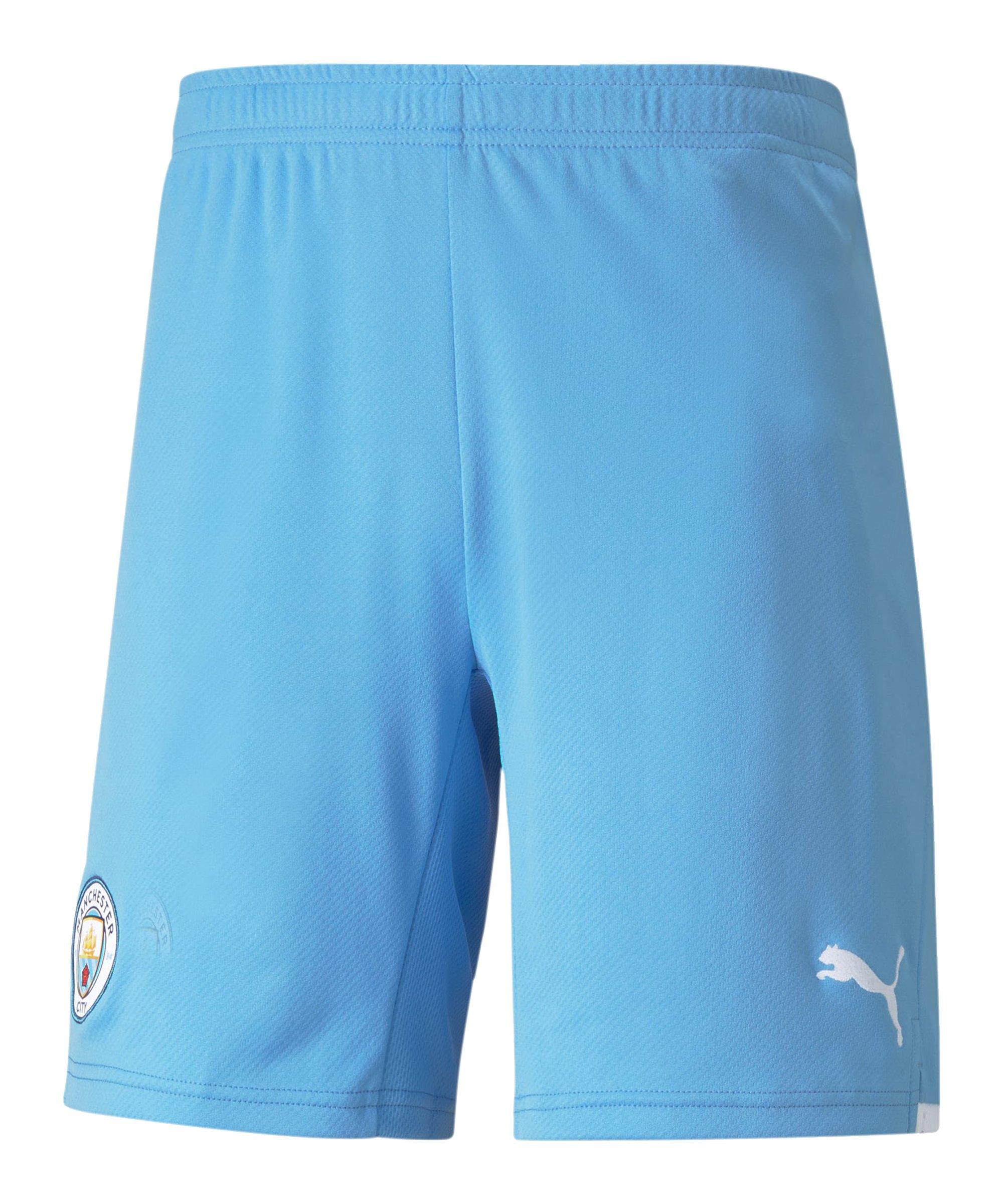 PUMA Manchester City Short Home 2021/2022 Blau F01 - blau