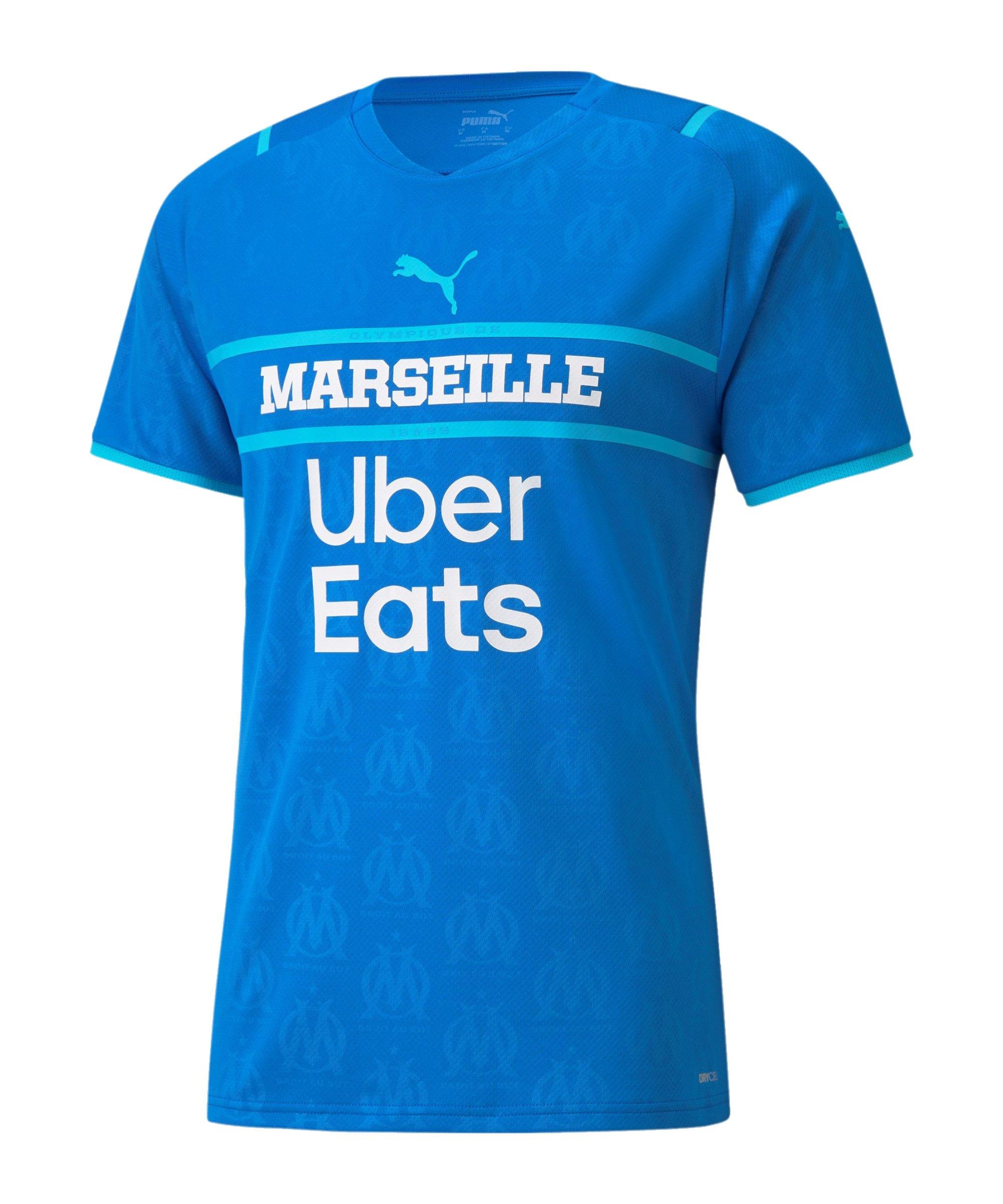 PUMA Olympique Marseille Trikot 3rd w.S. 2021/2022 Blau F03 - blau