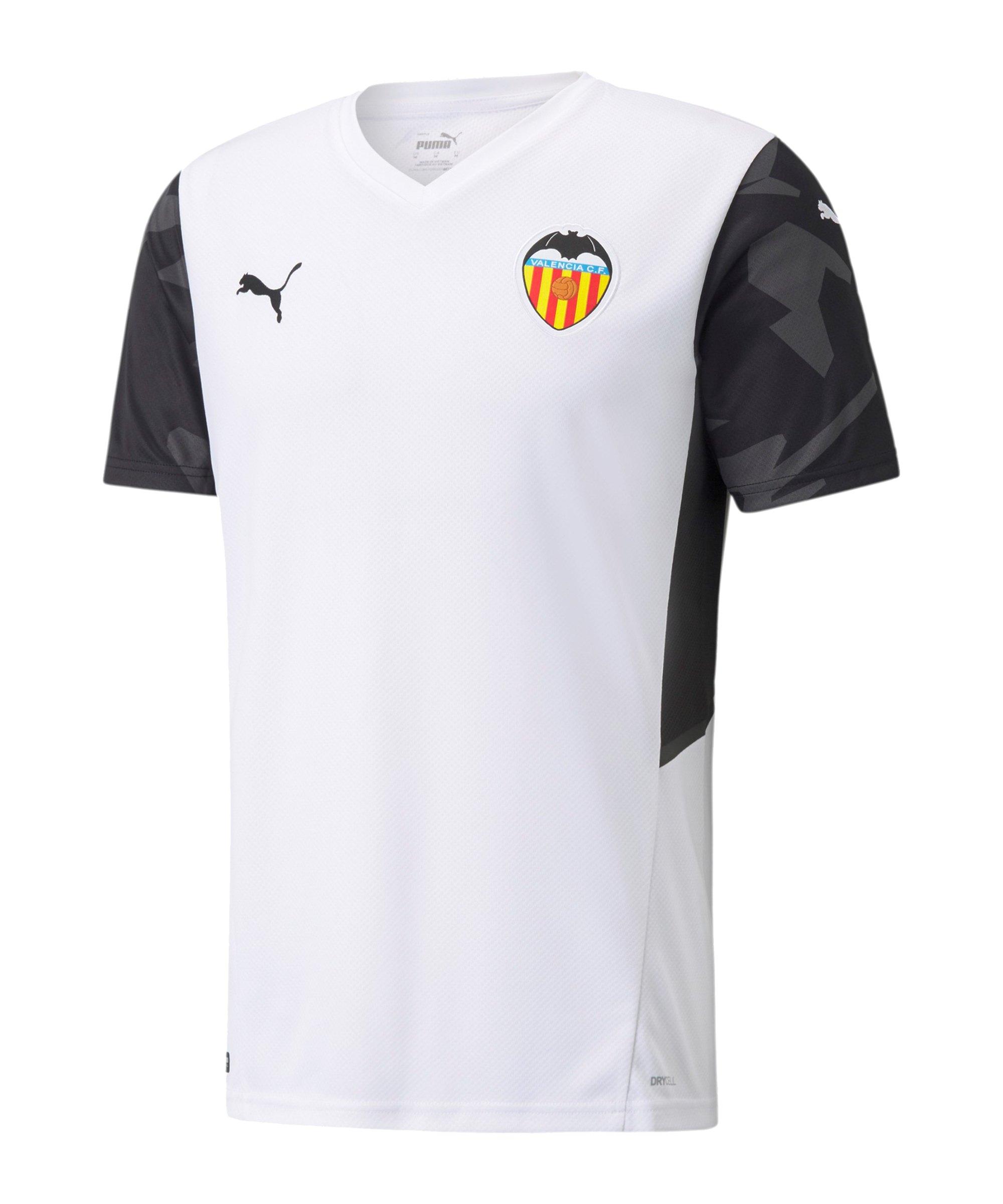 PUMA FC Valencia Trikot Home 2021/2022 Weiss F01 - weiss