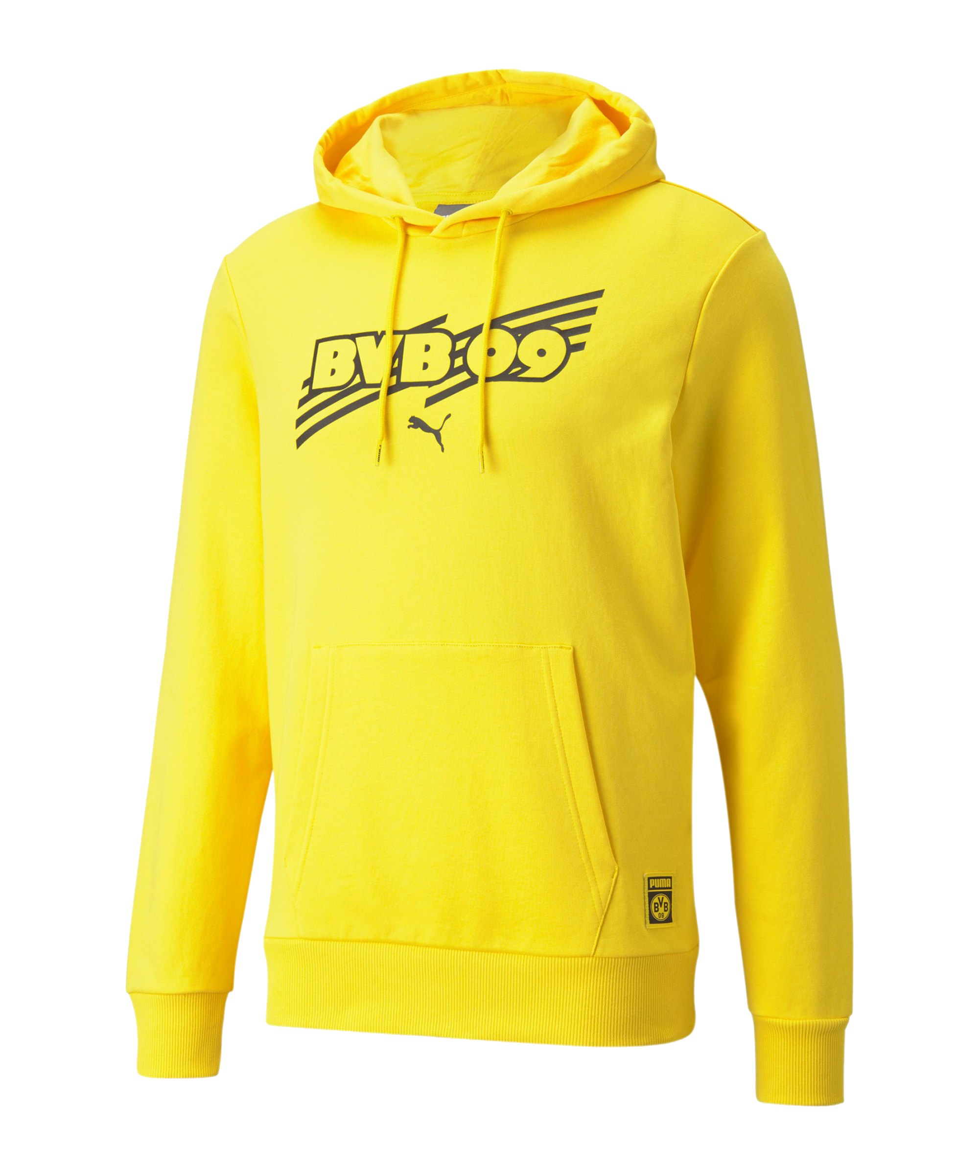 PUMA BVB Dortmund ftblCore Hoody Gelb F01 - gelb