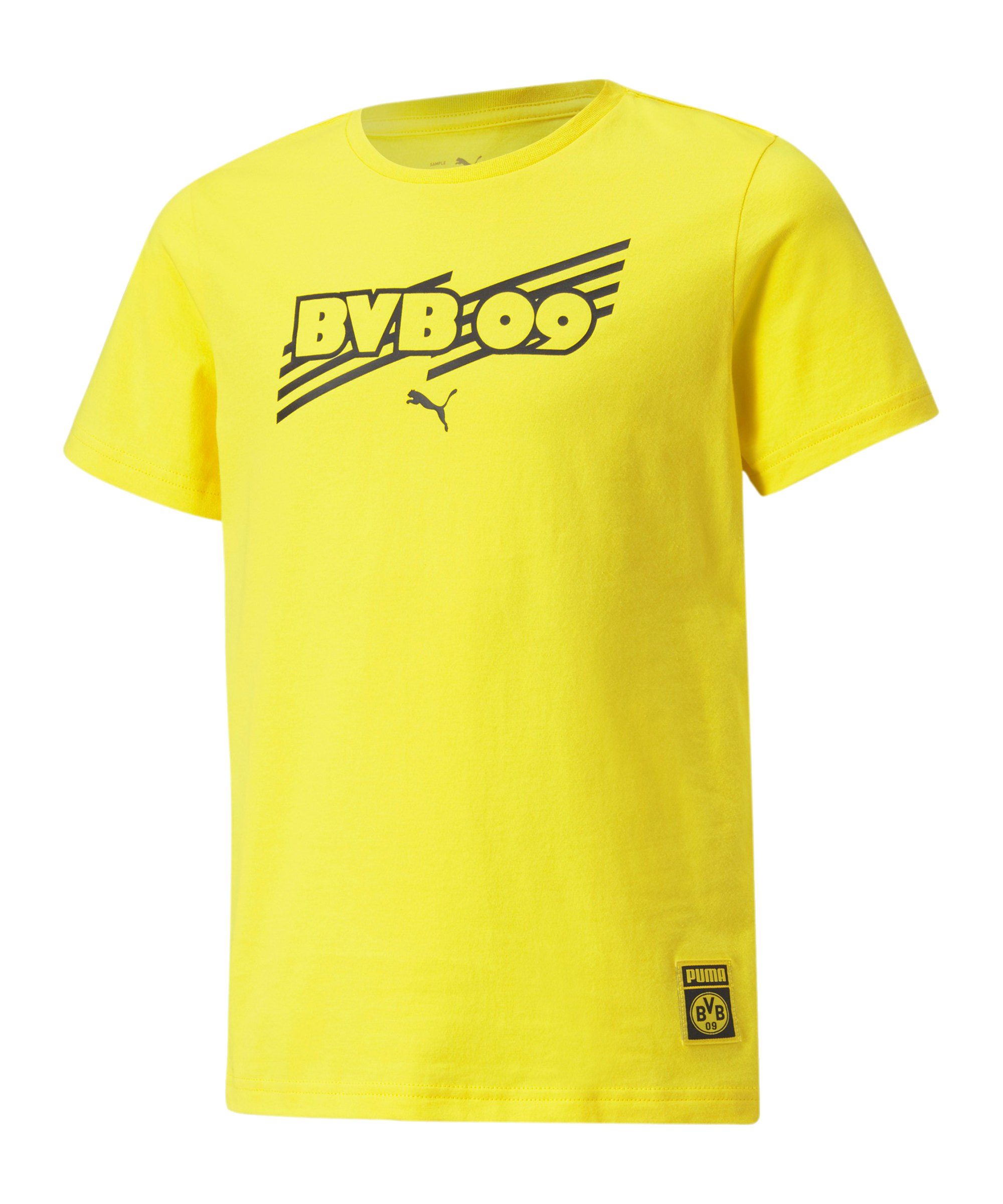 PUMA BVB Dortmund FtblCore T-Shirt Kids F01 - gelb