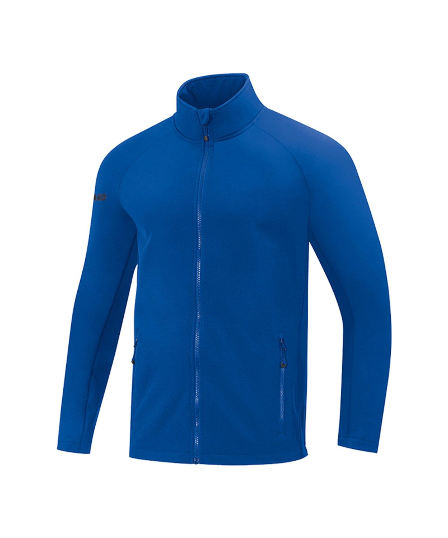 Jako Team Softshelljacke Damen Blau F04 - Blau