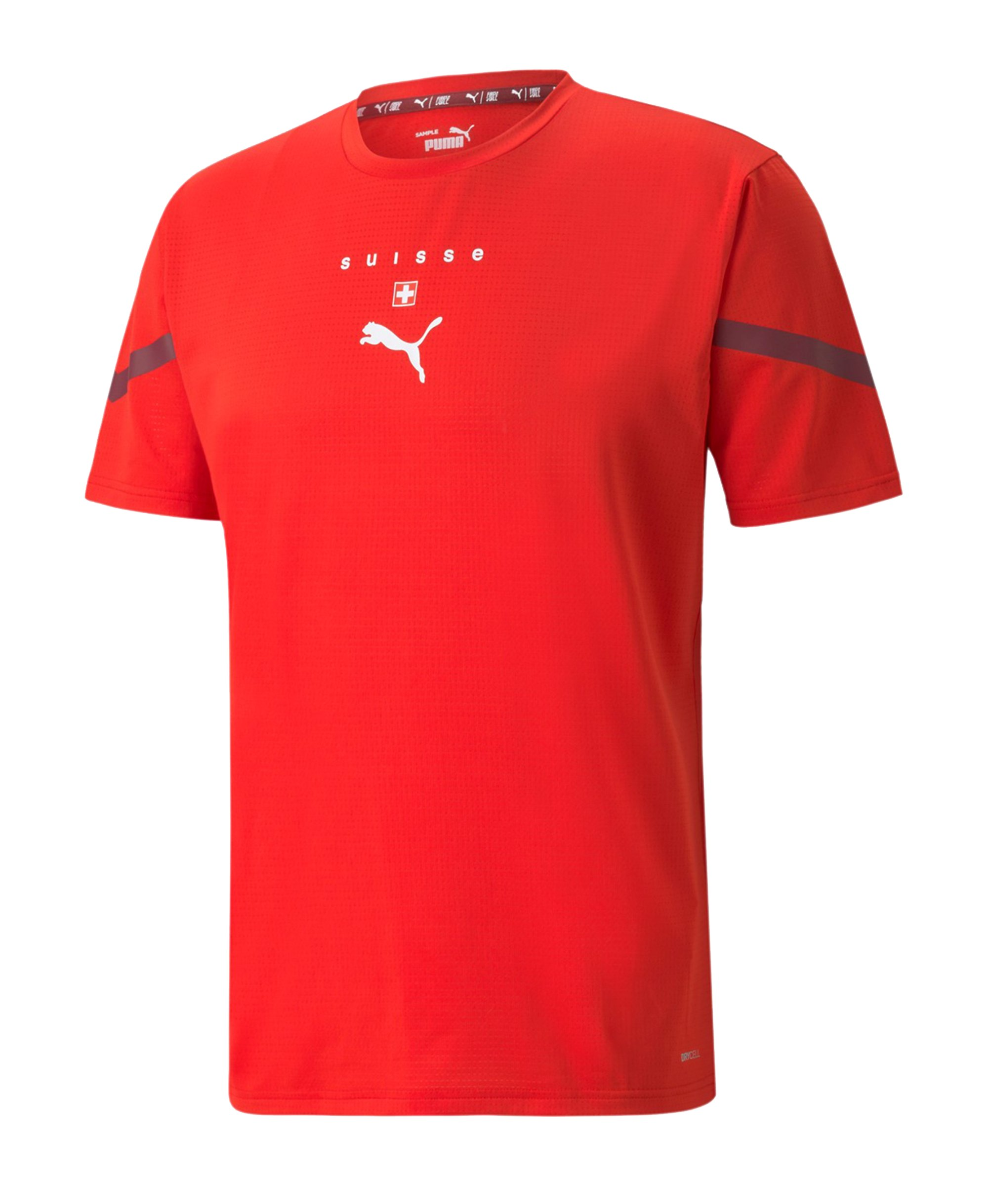 PUMA Schweiz Prematch Shirt 2021/2022 Rot F13 - rot